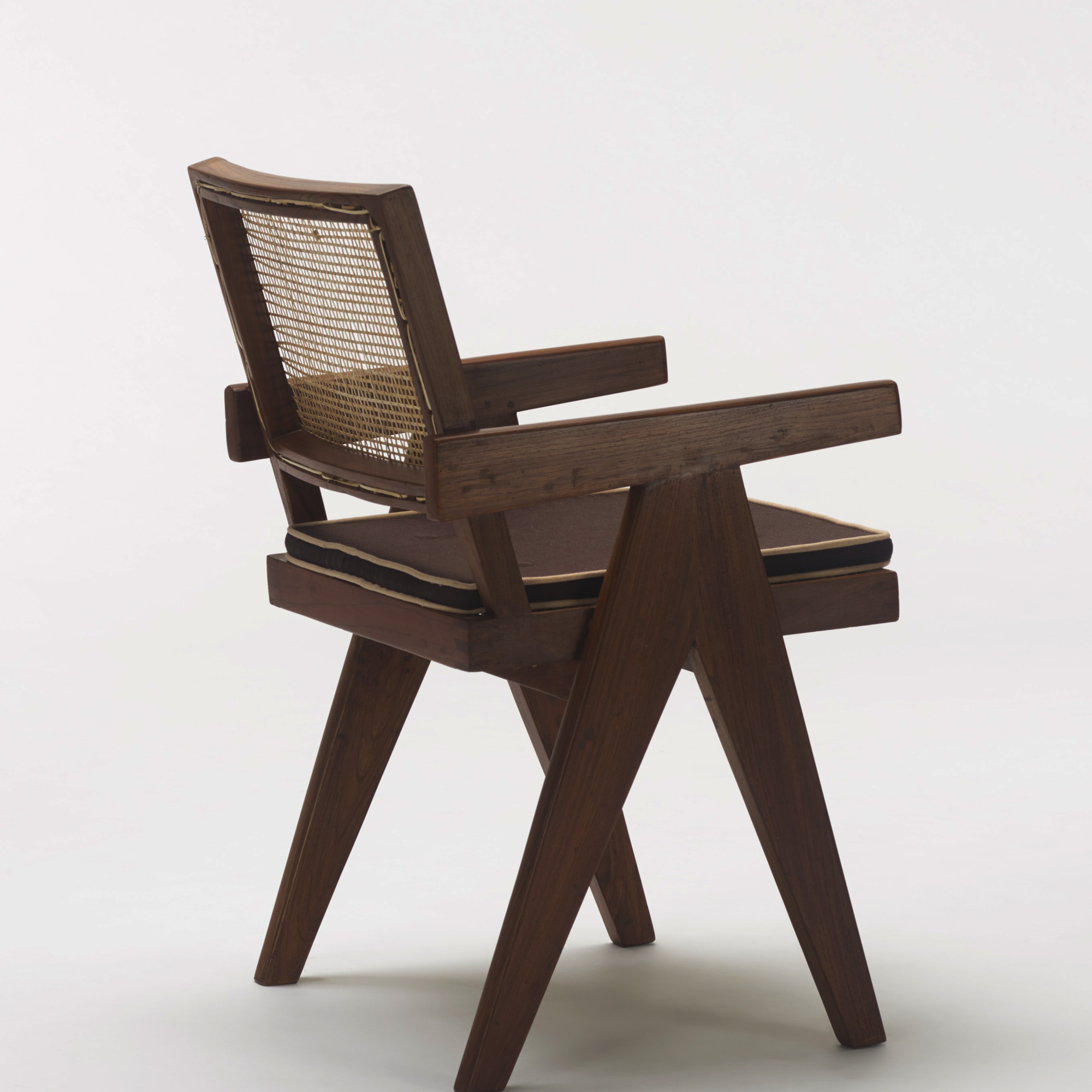 118: Pierre Jeanneret / set of six armchairs from Chandigarh (3 of 3)