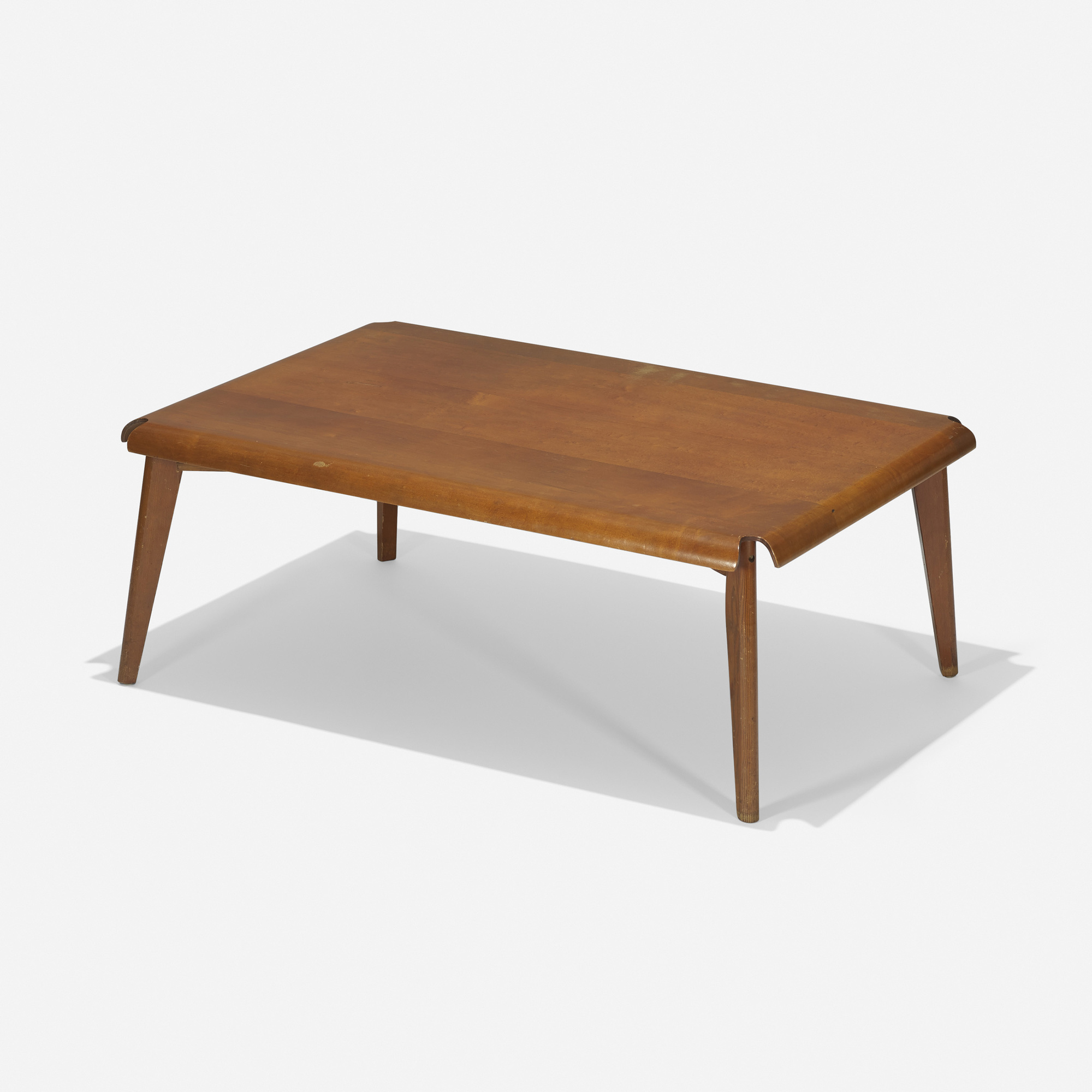 119: Charles And Ray Eames / Rare Plywood Coffee Table (1 Of 3)