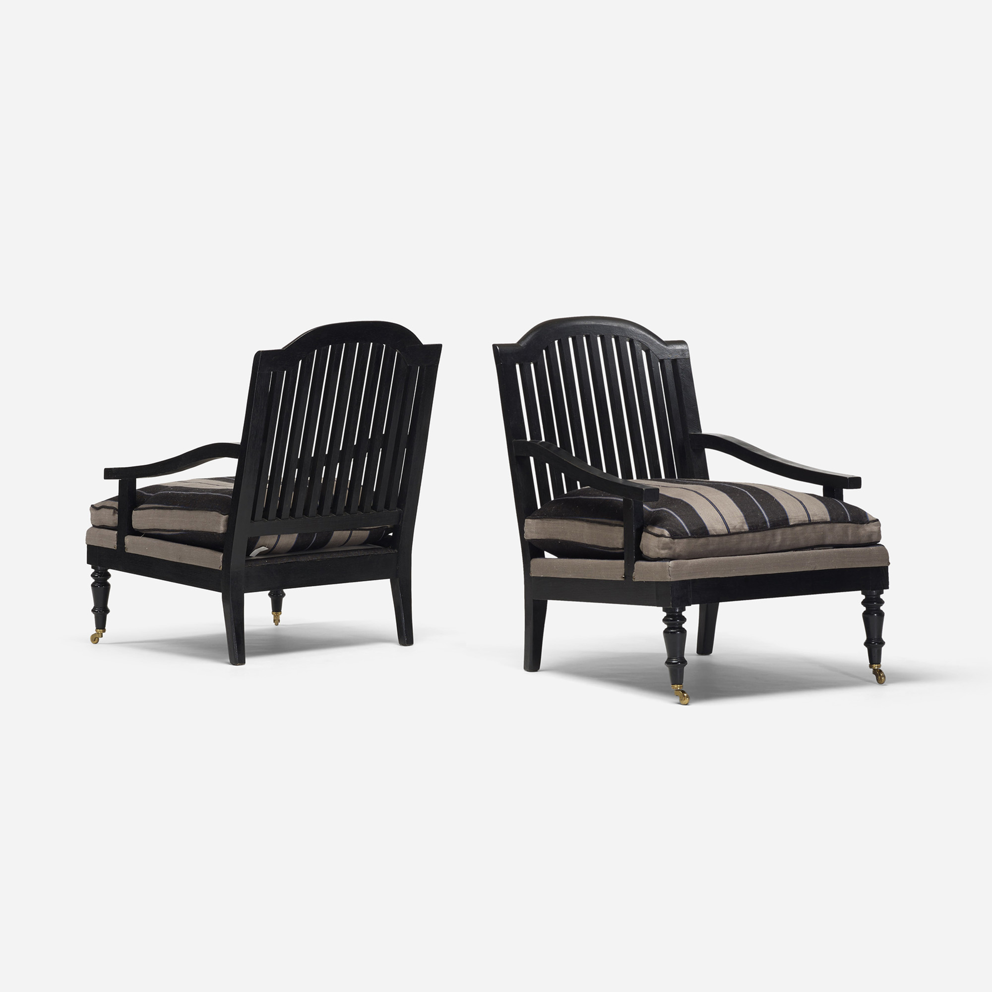 119: American / lounge chairs, pair (1 of 3)