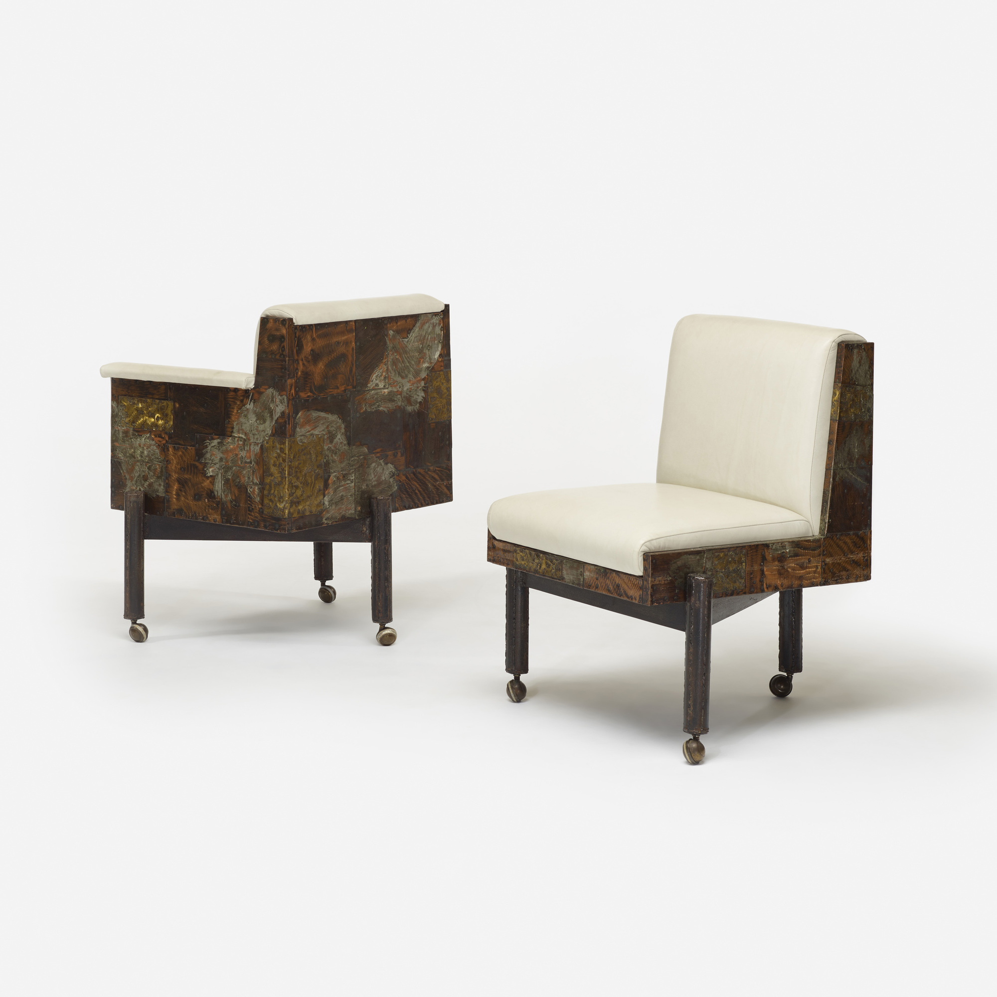 ... 119: Paul Evans / Dining Chairs, Set Of Eight (2 Of 4)