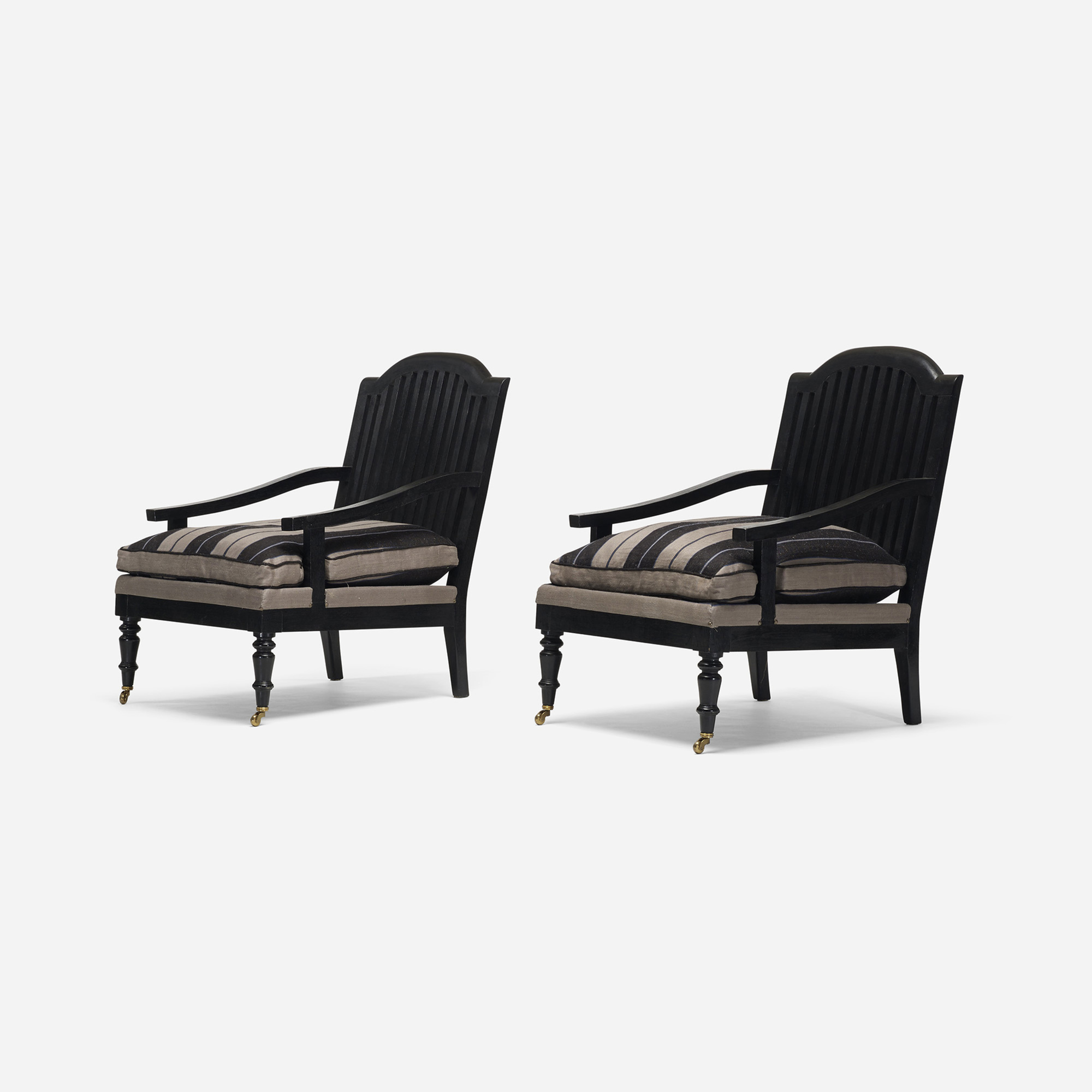 119: American / lounge chairs, pair (2 of 3)