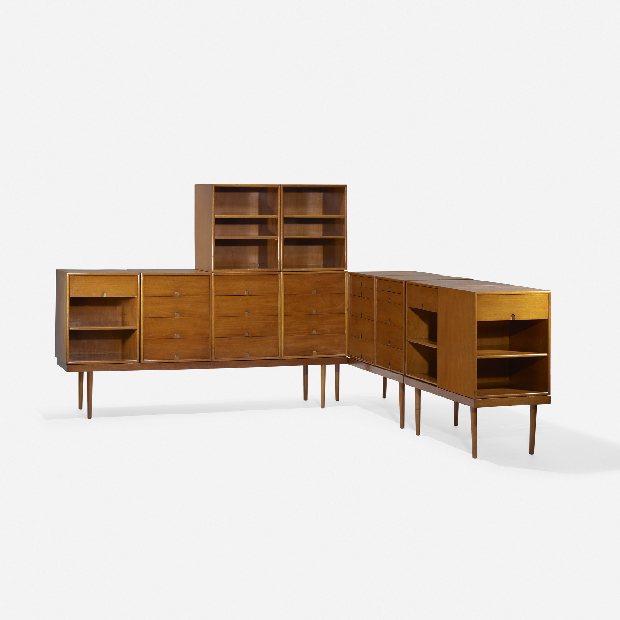 120: Charles Eames and Eero Saarinen / storage units for the Organic Design Competition (1 of 2)