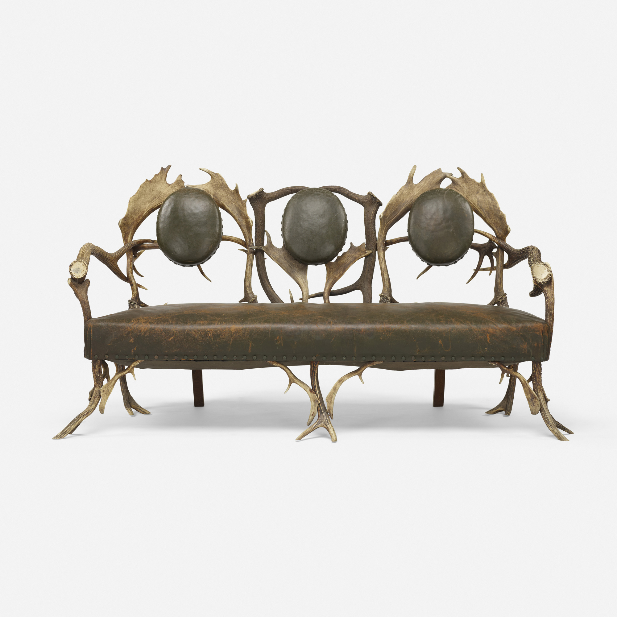 120: Bavarian / Hunting Lodge Sofa (1 Of 4)