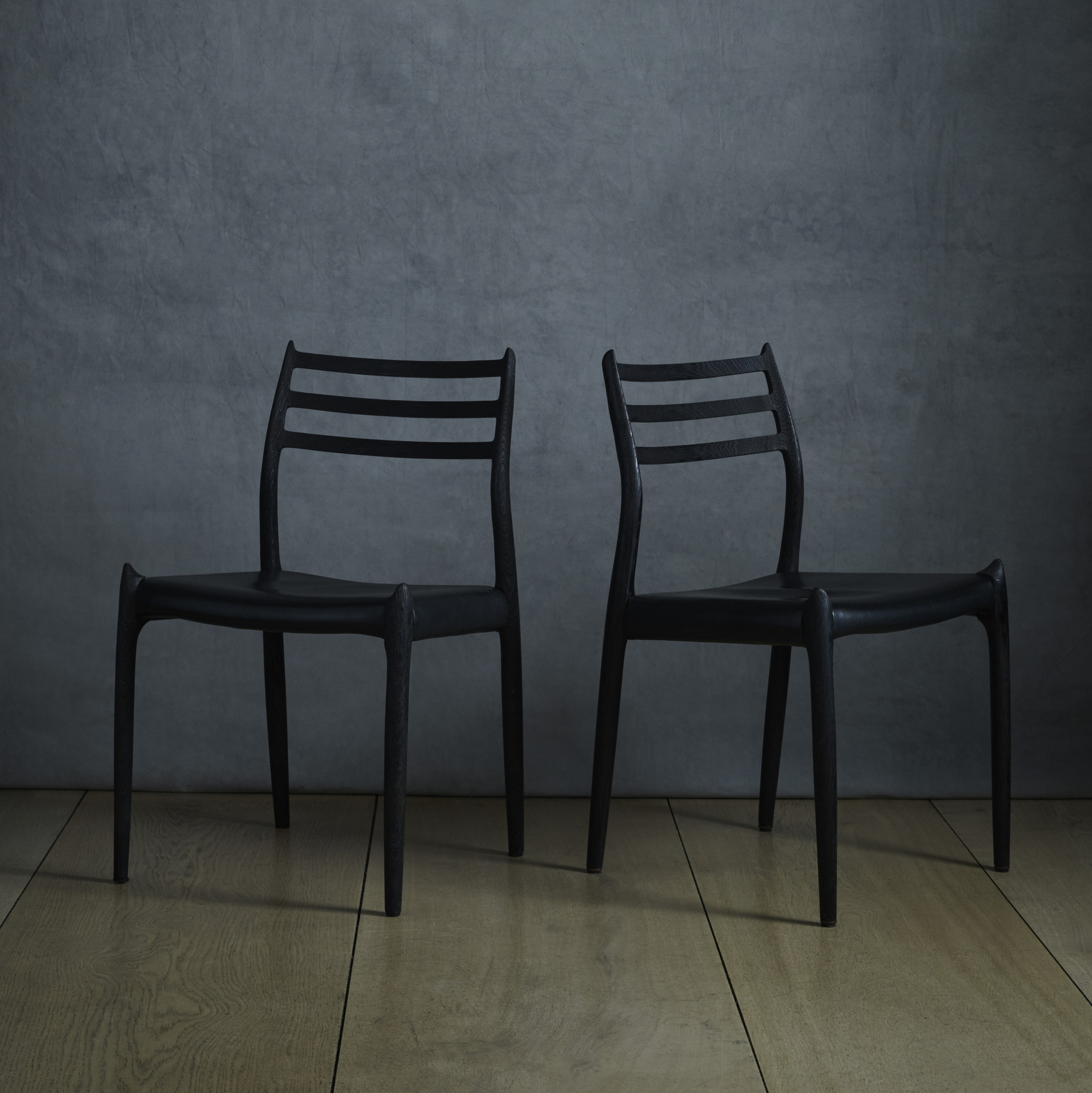 120: Niels O. Møller / Dining Chairs, Pair (1 Of 2)