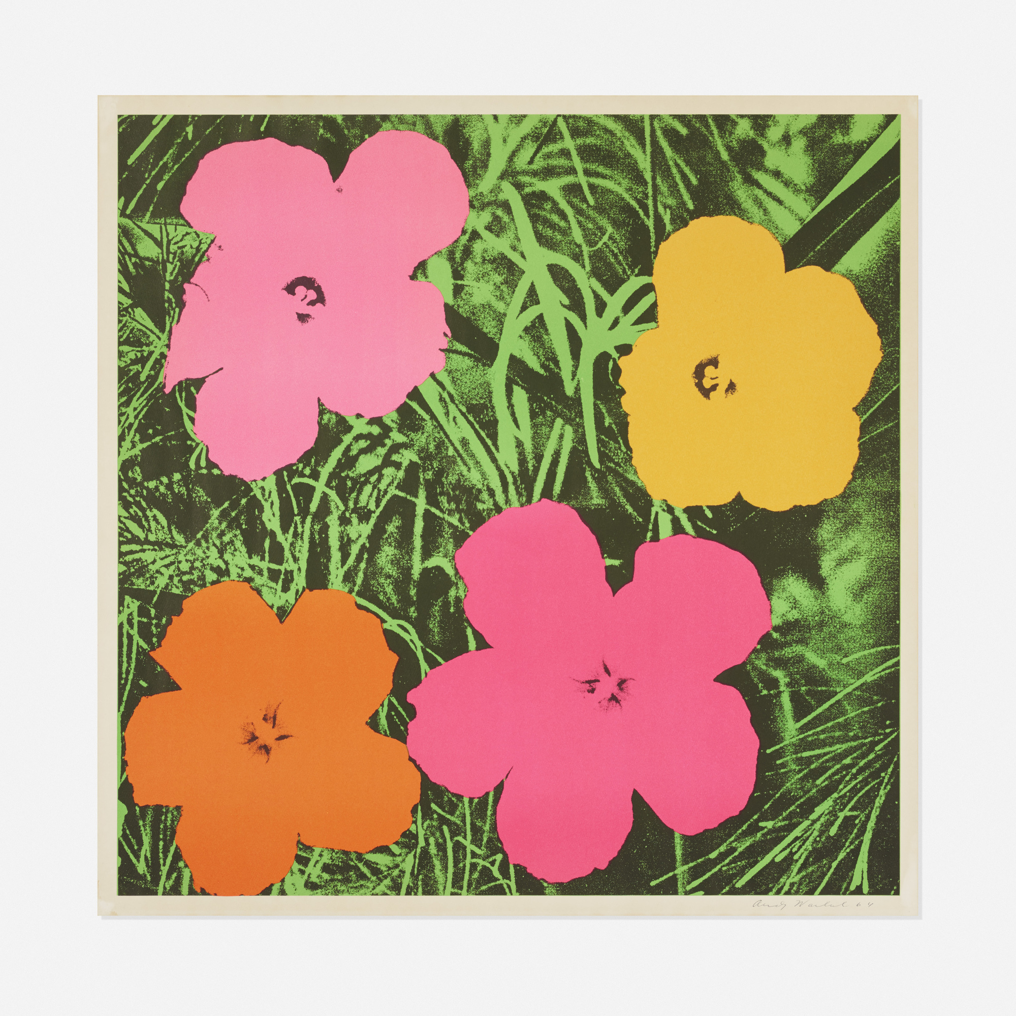 120: Andy Warhol / Flowers (1 of 2)