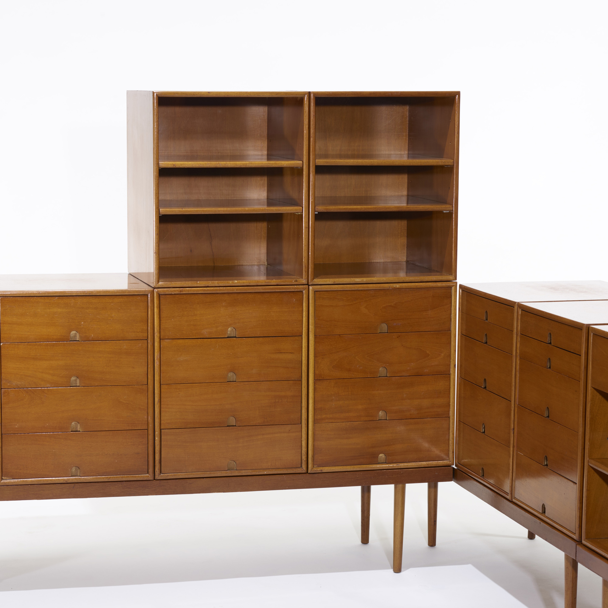 ... 120 Charles Eames and Eero Saarinen / storage units for the Organic Design Competition (  sc 1 st  Wright Auctions & 120: CHARLES EAMES AND EERO SAARINEN storage units for the Organic ...