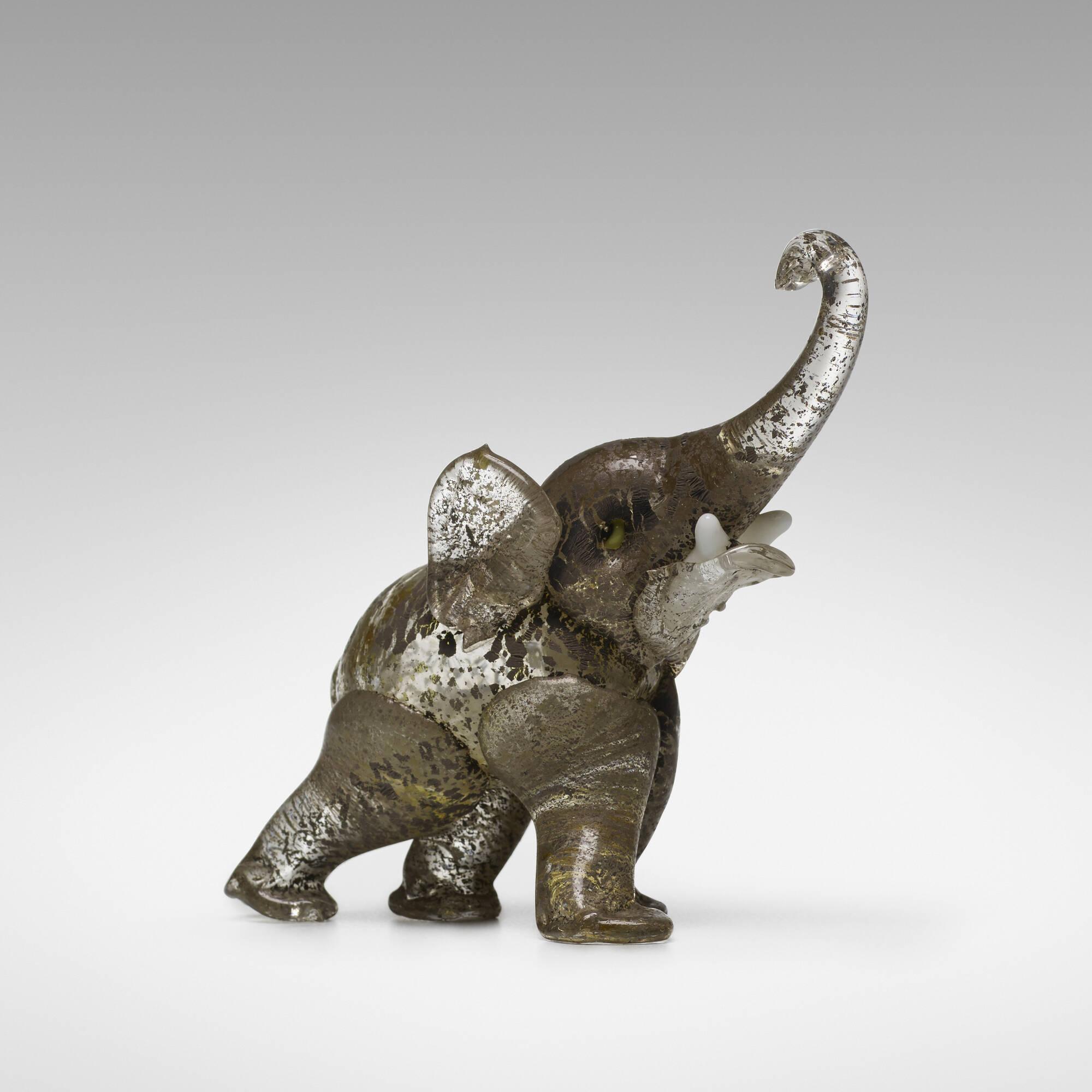 121: Ercole Barovier / Elefante (1 of 2)