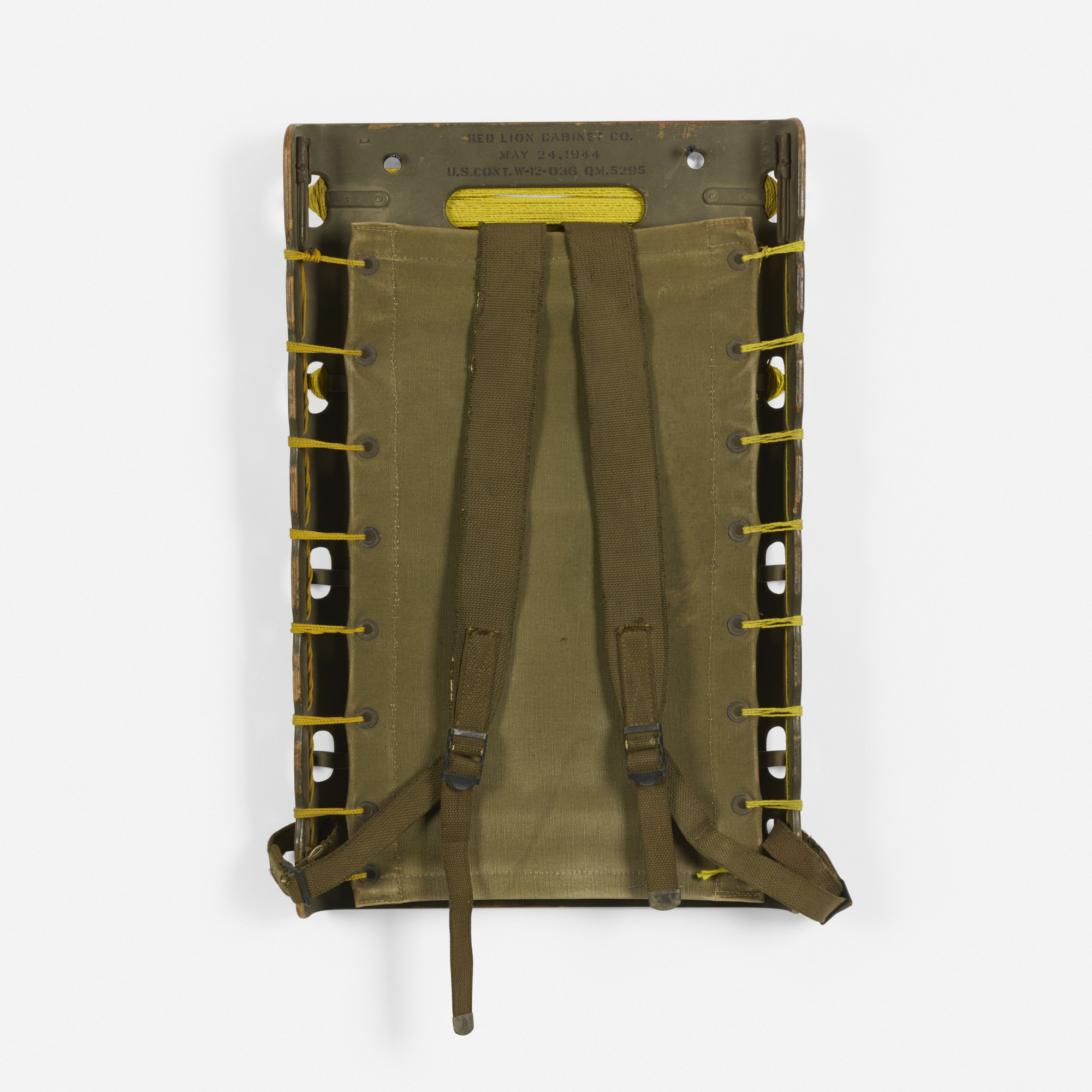 121: Red Lion Cabinet Co. / US Army backpack frame (1 of 3)