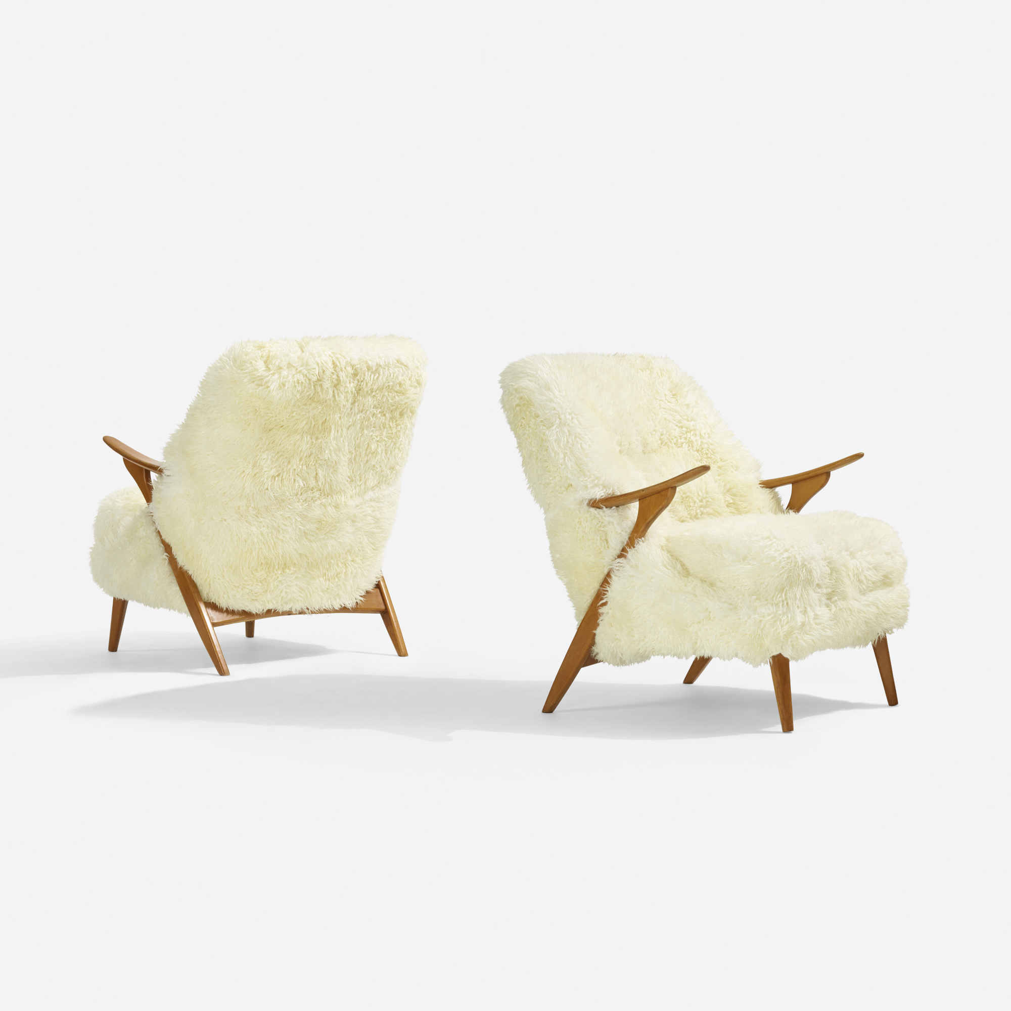 121: Svante Skogh / armchairs, pair (1 of 3)