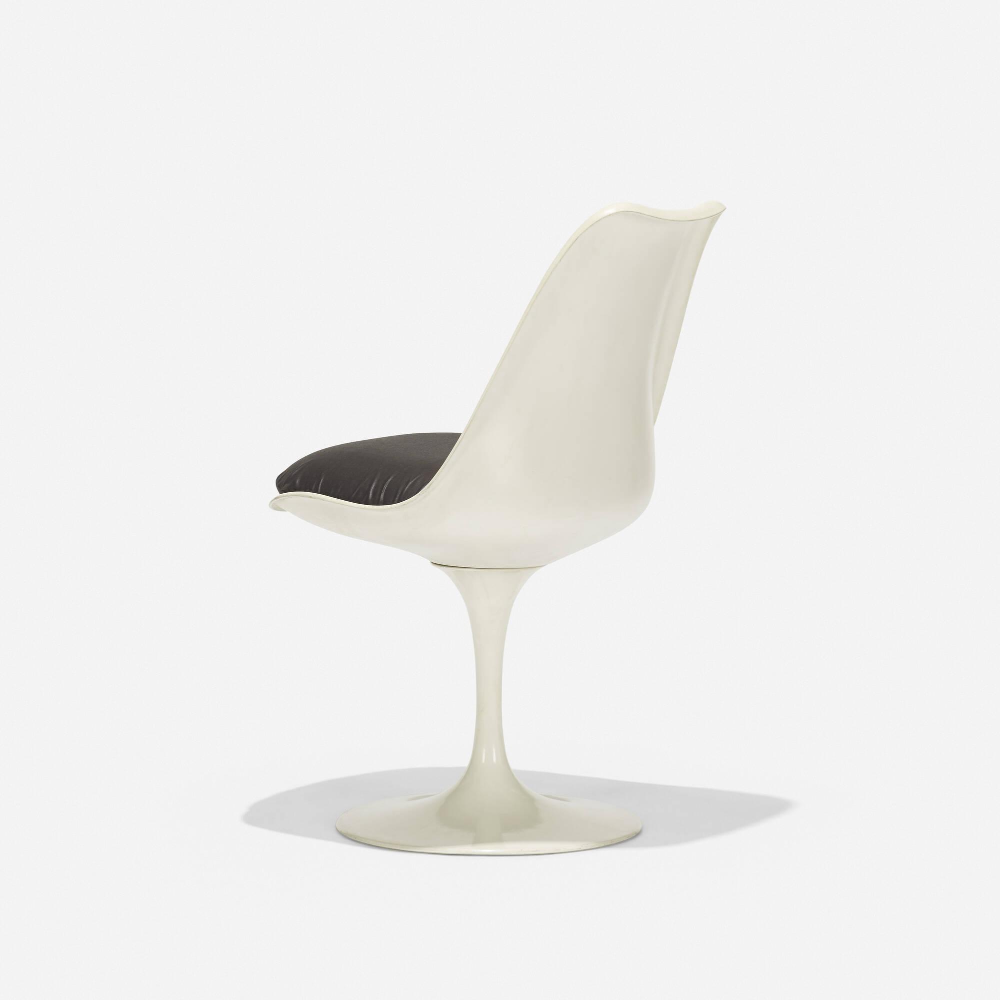 121: Eero Saarinen / Tulip Chair (1 Of 3) ...
