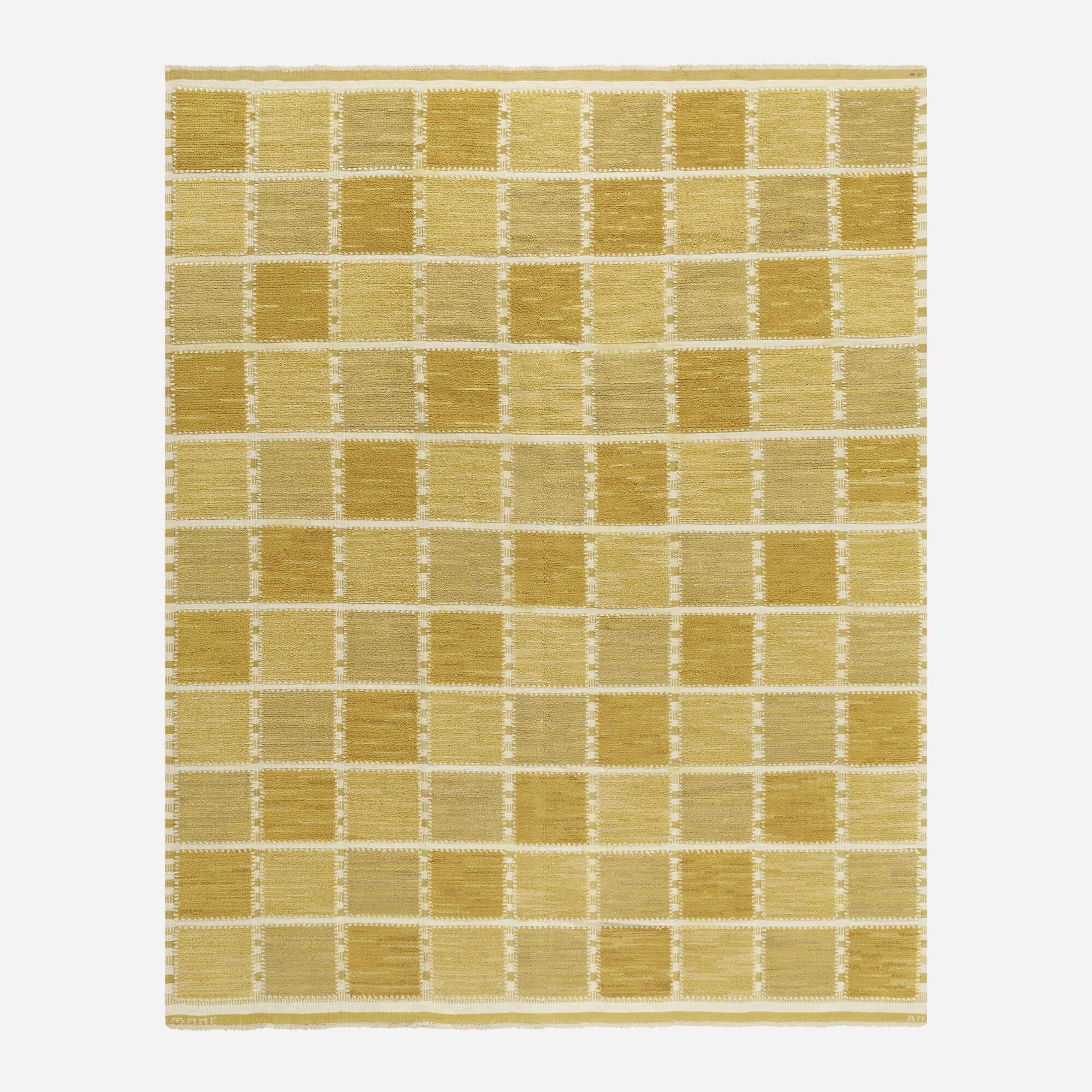 121: Barbro Nilsson / Gyllenrutan half-pile carpet (1 of 3)