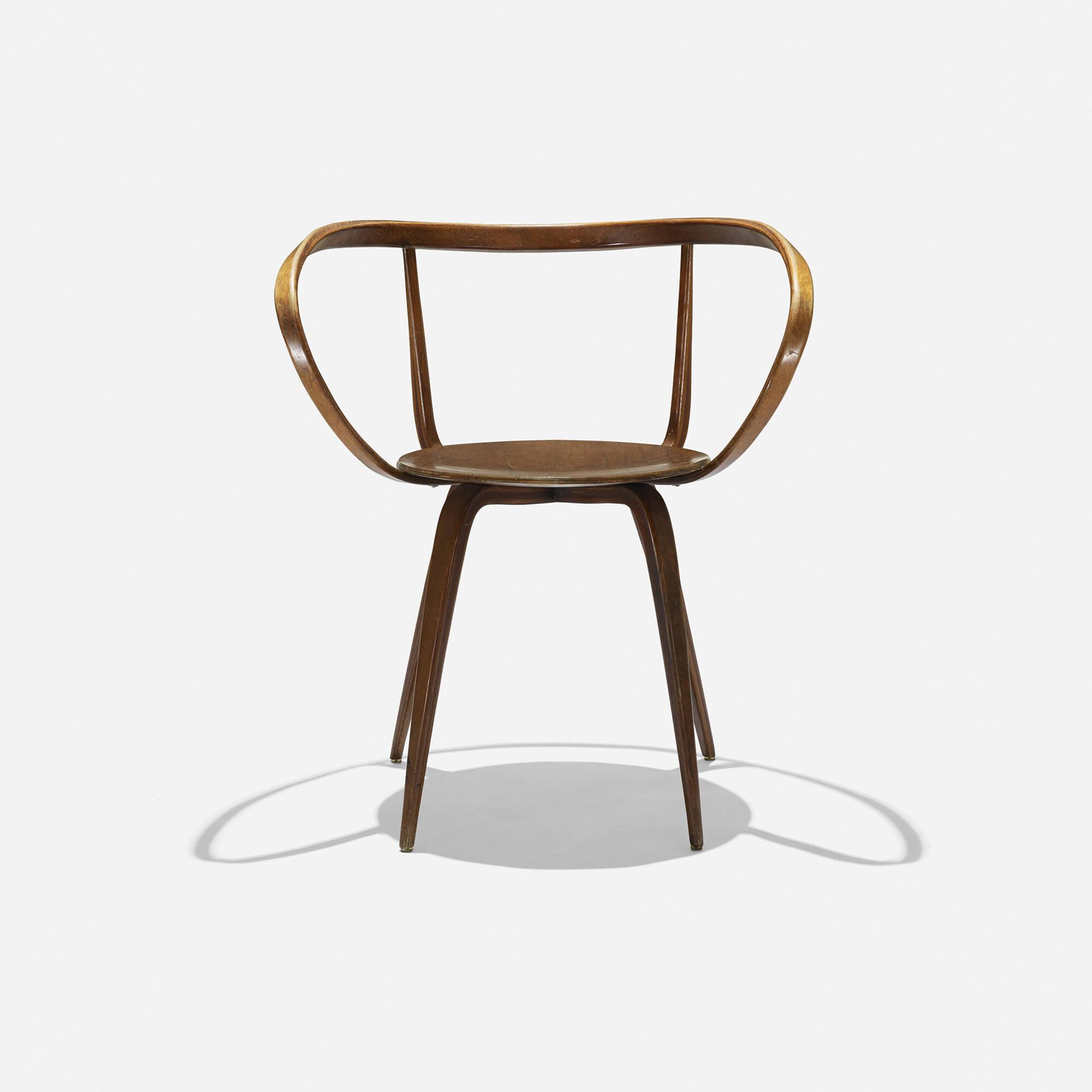 ... 121: George Nelson U0026 Associates / Pretzel Chair, Model 5890 (2 Of 4