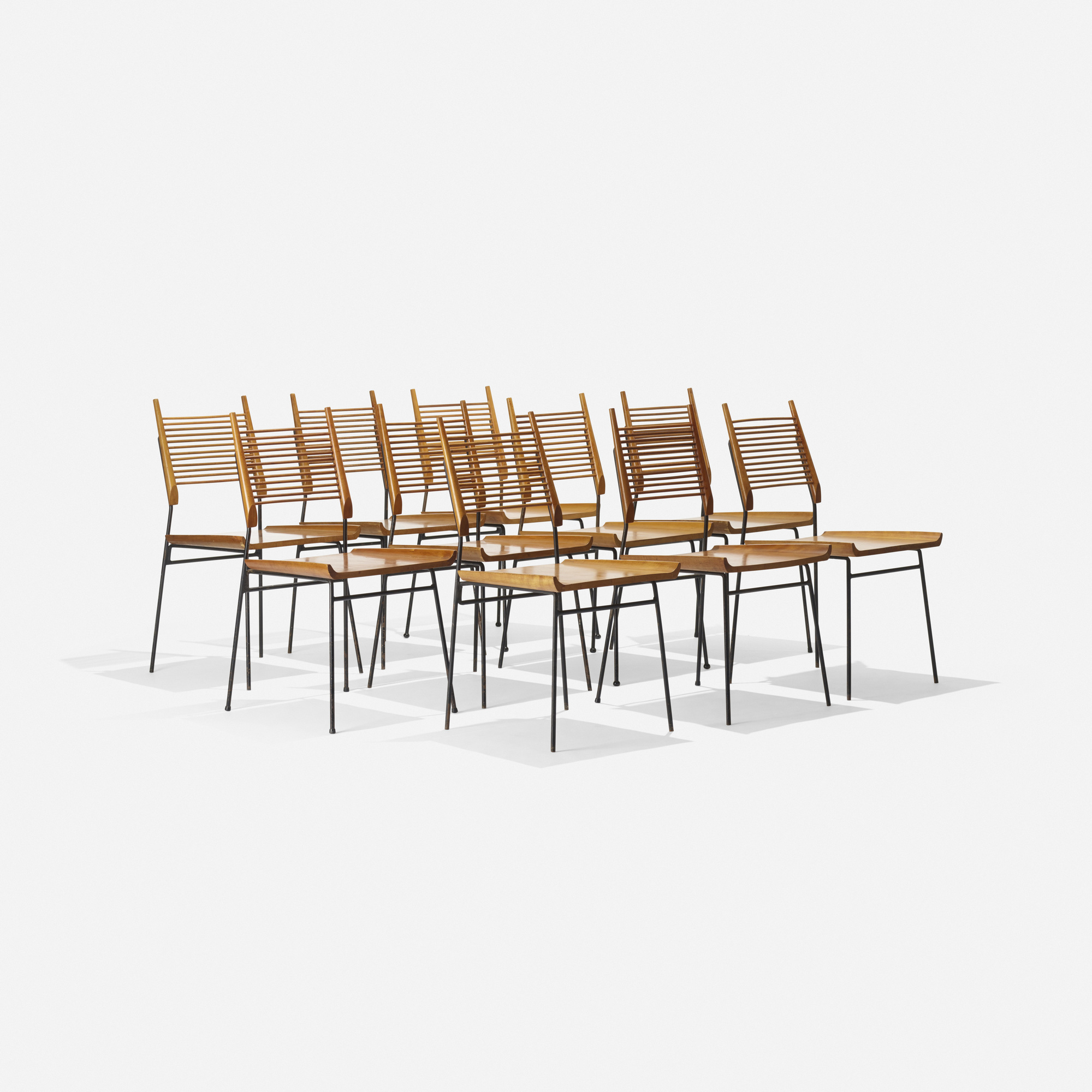 121 Paul Mccobb Planner Group Dining Chairs Model 1533