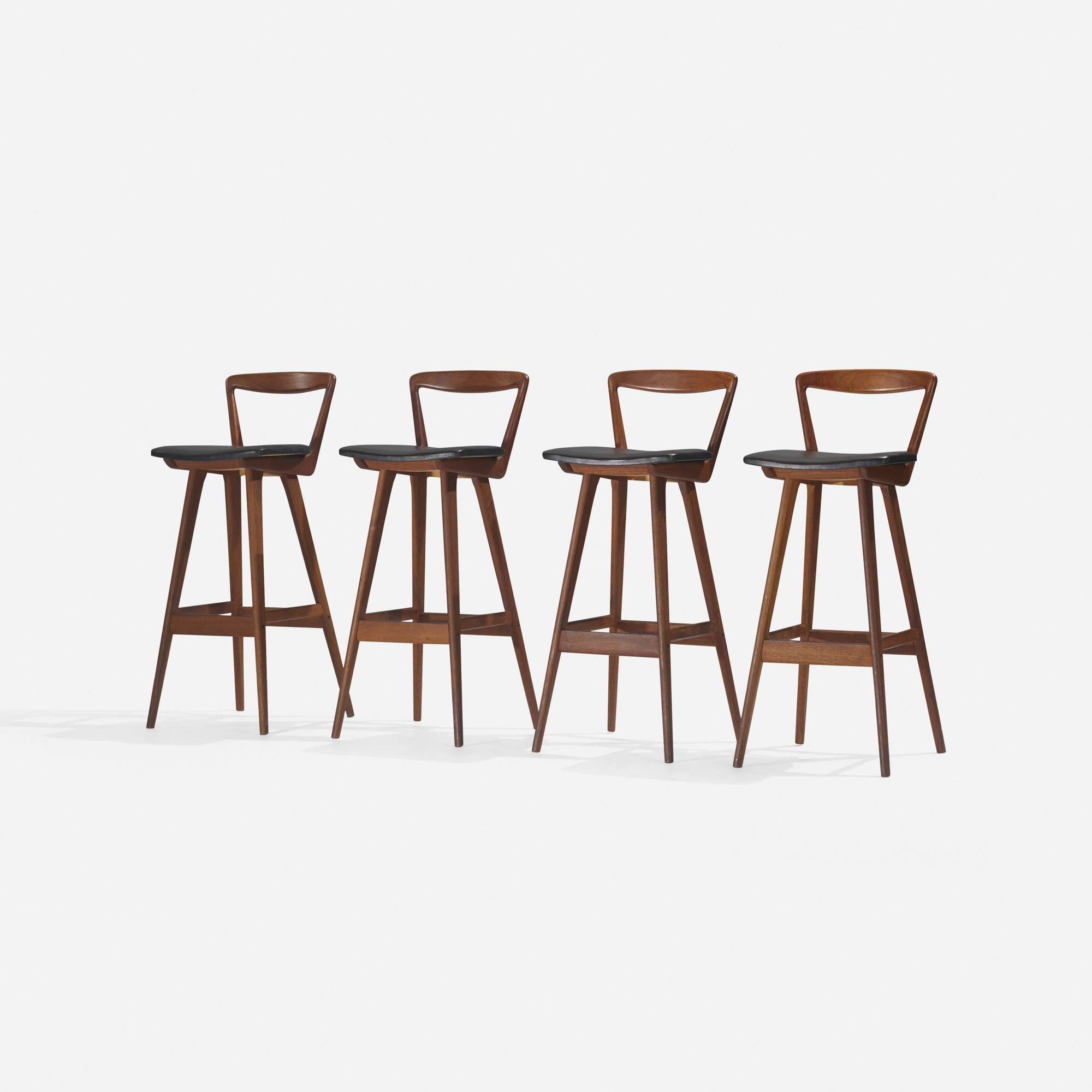 121: Henry Rosengren Hansen / stools, set of four (2 of 2)