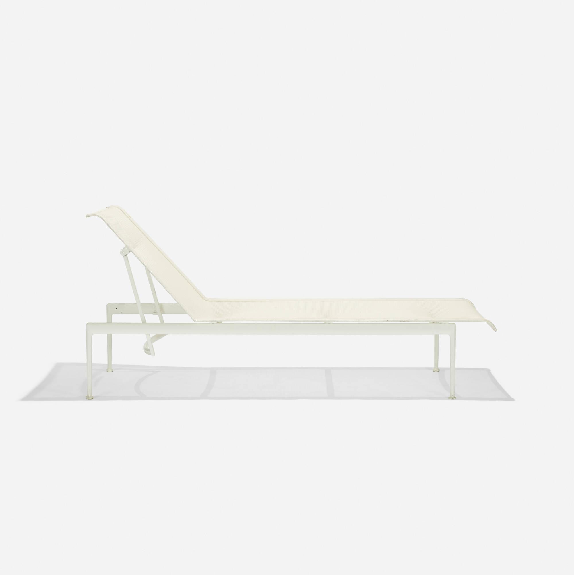 richard schultz  prototype  chaise lounge  the design  -   richard schultz  prototype  chaise lounge ( of )