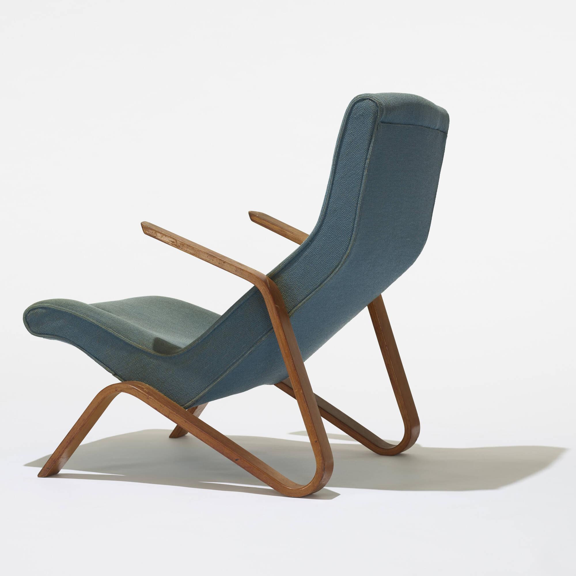 ... 121: Eero Saarinen / Grasshopper Chairs, Pair (3 Of 3)