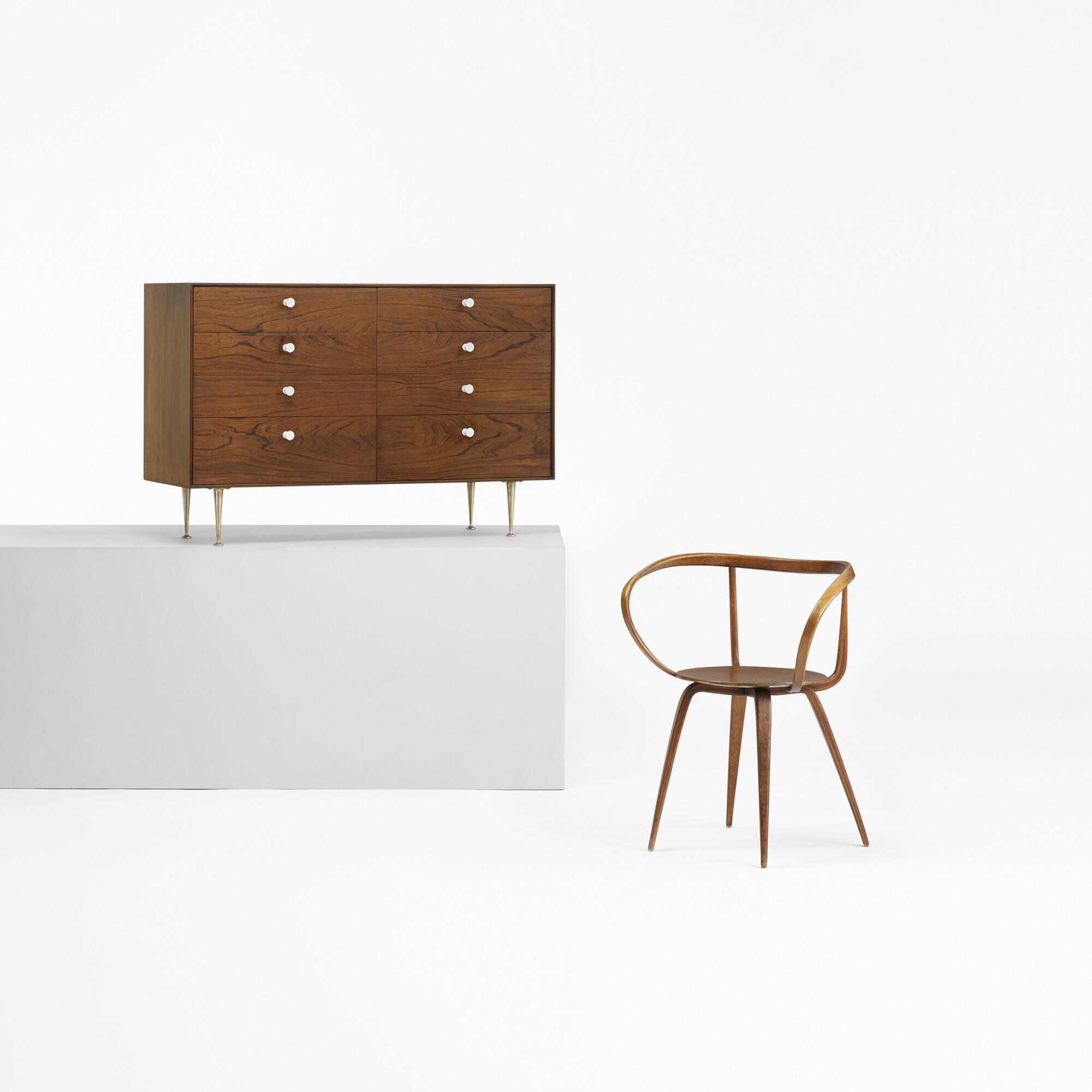 ... 121: George Nelson U0026 Associates / Pretzel Chair, Model 5890 (3 Of 4