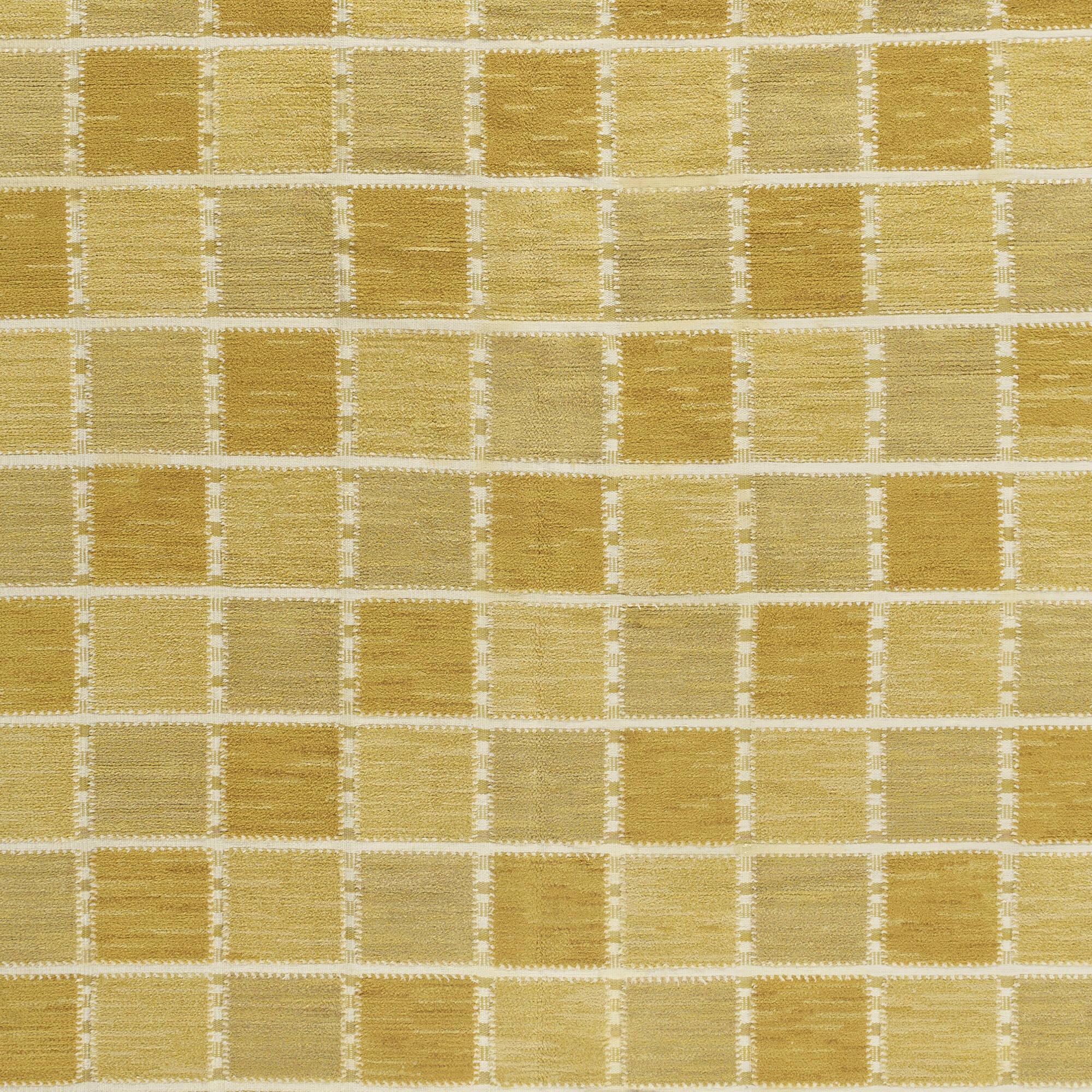 121: Barbro Nilsson / Gyllenrutan half-pile carpet (3 of 3)