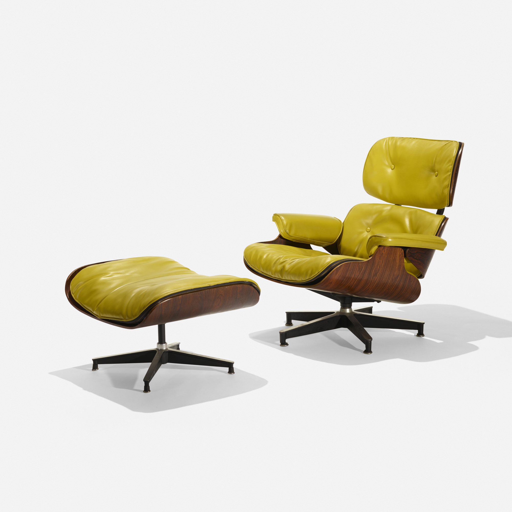 122: Charles and Ray Eames / special-order 670 lounge and 671 ottoman (1 of 3)