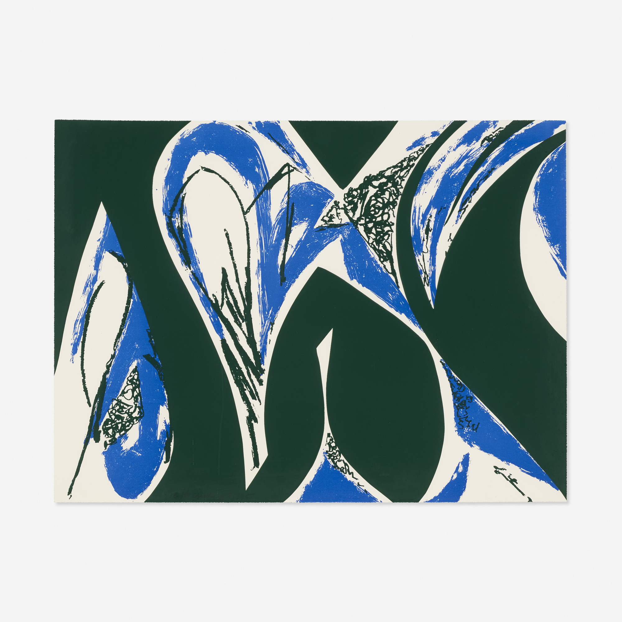 122: Lee Krasner / Free Space (Blue) (1 of 1)