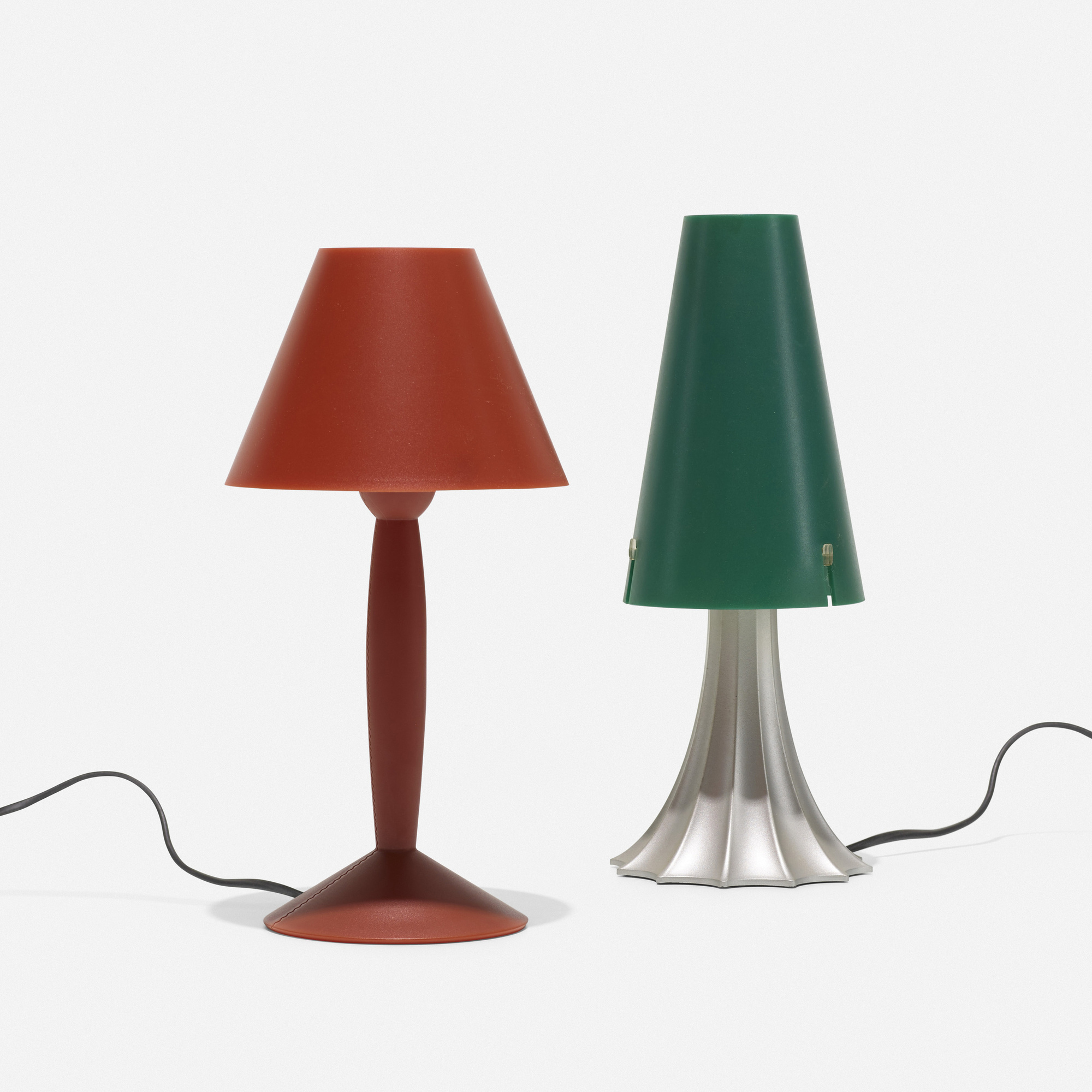 122: Philippe Starck and Alessandro Mendini / Miss Sissi and Mimi table lamps (1 of 3)