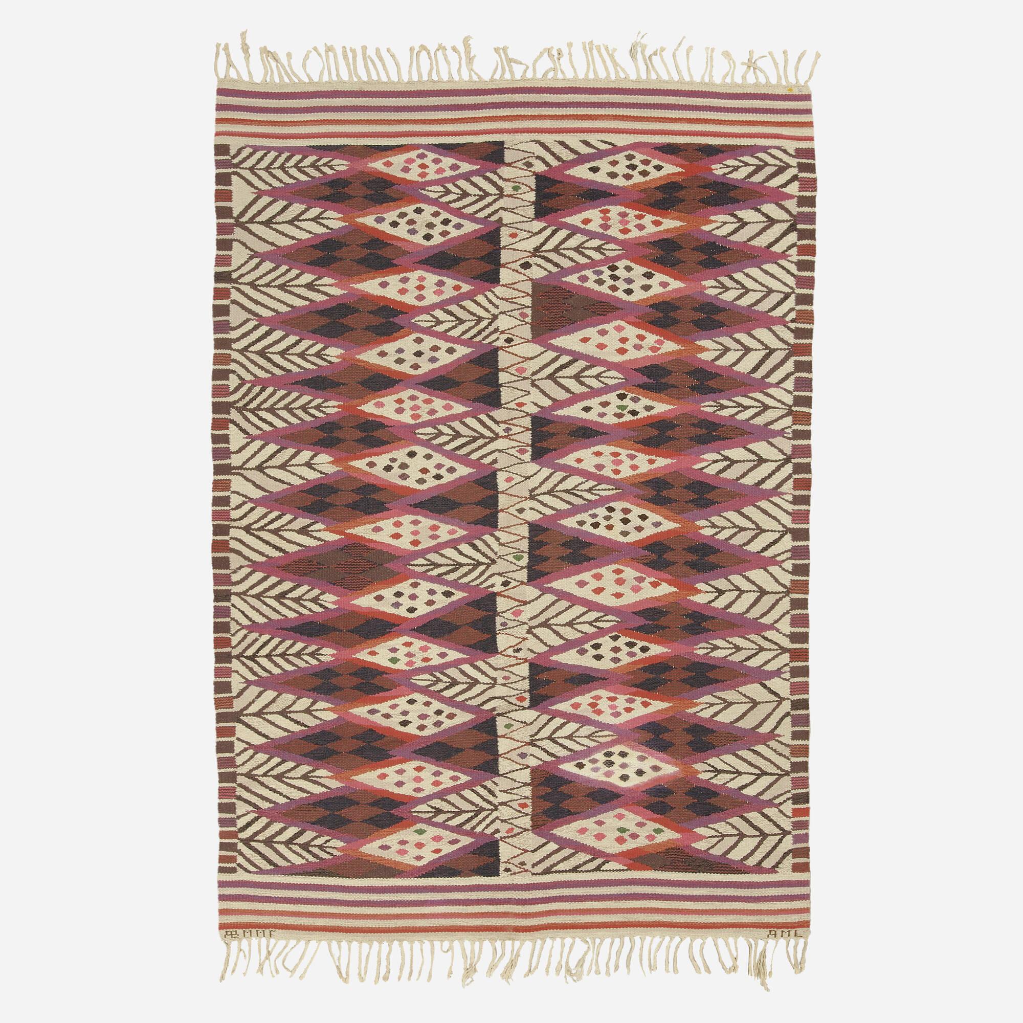 122: Ann-Mari Forsberg / Stammen tapestry weave carpet (1 of 1)