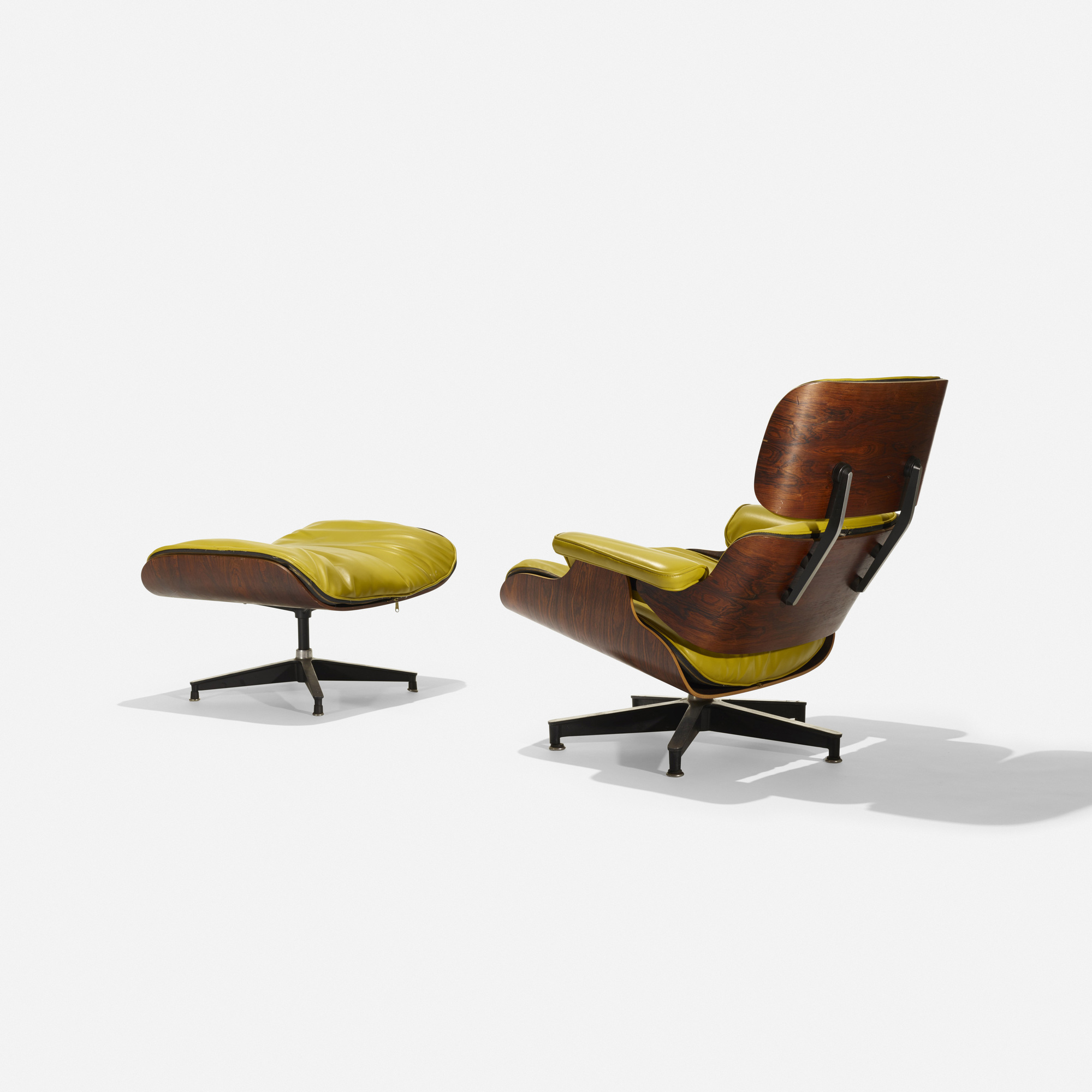 122: Charles and Ray Eames / special-order 670 lounge and 671 ottoman (2 of 3)