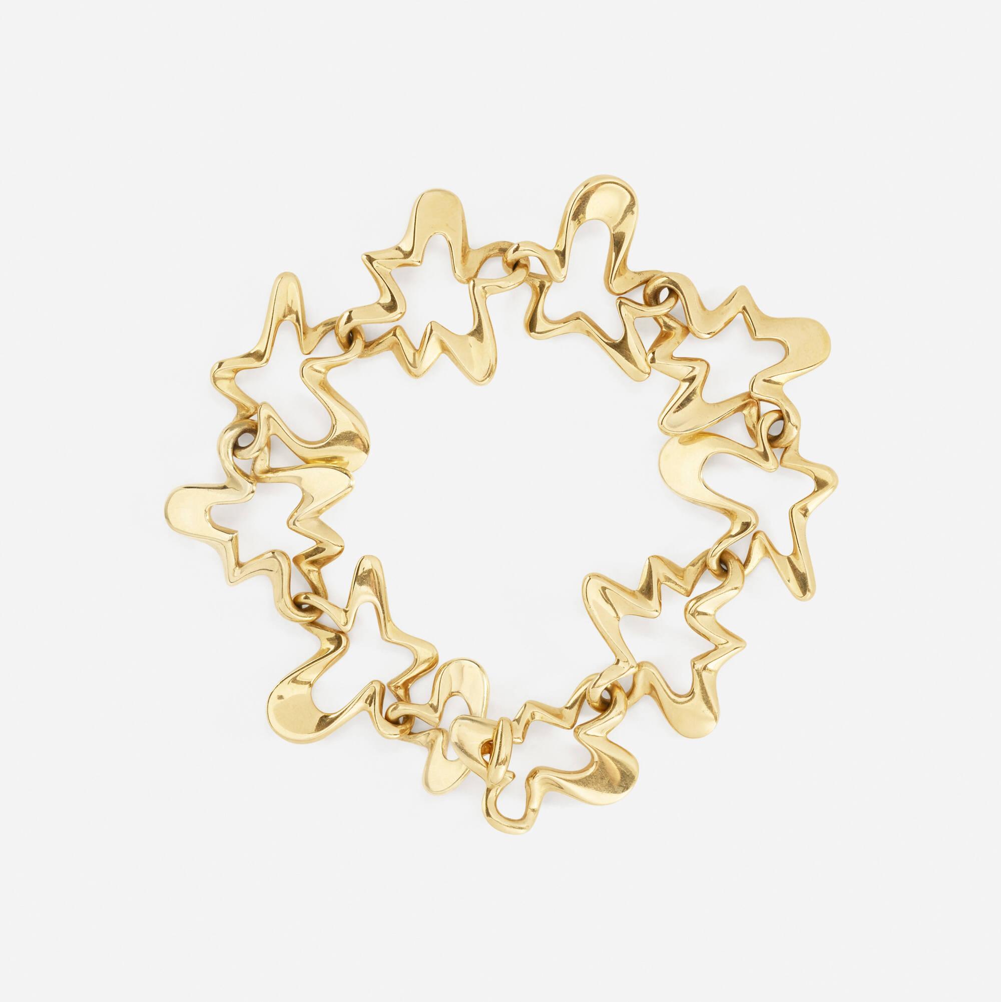122: Henning Koppel for Georg Jensen / A gold bracelet (2 of 2)