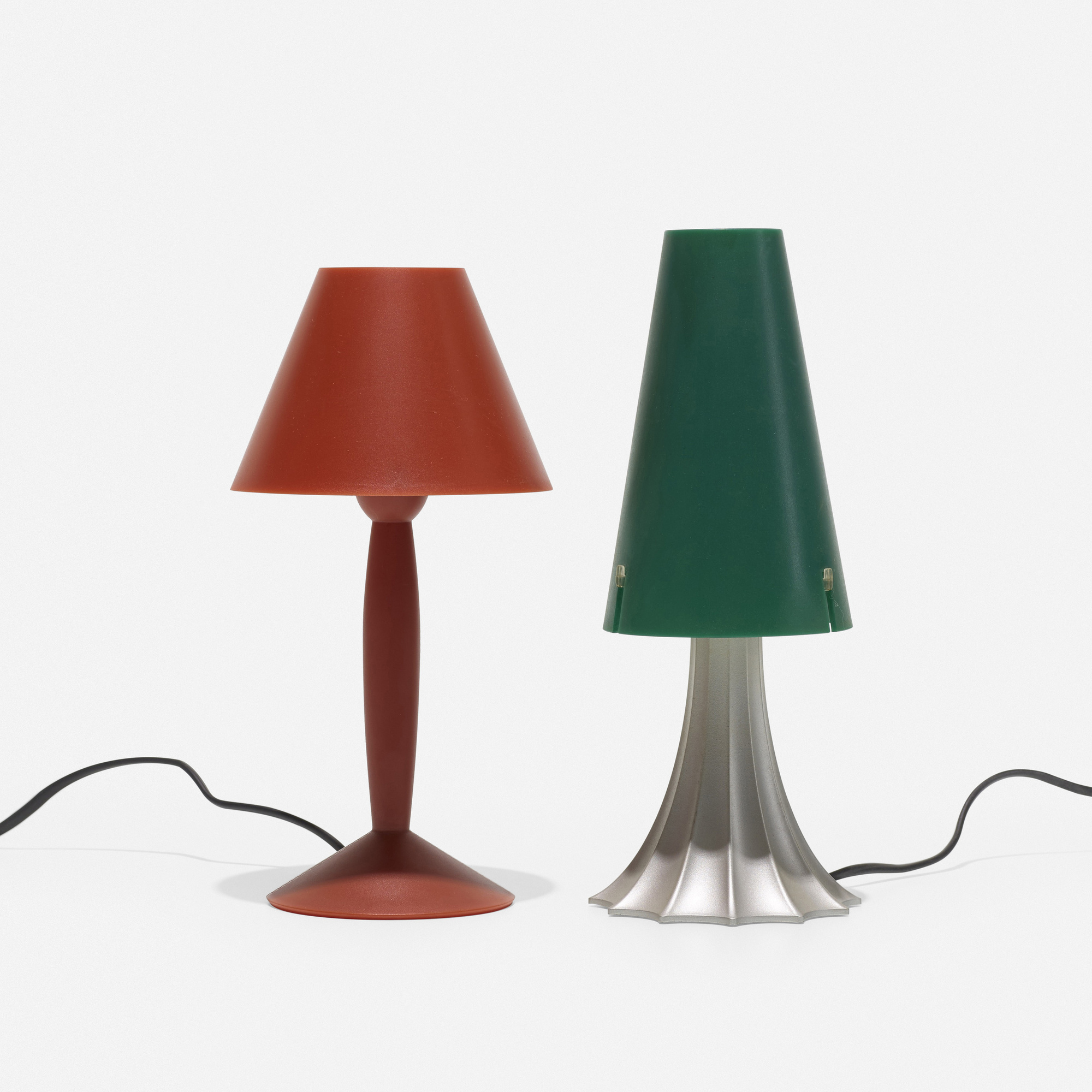 122: Philippe Starck and Alessandro Mendini / Miss Sissi and Mimi table lamps (2 of 3)