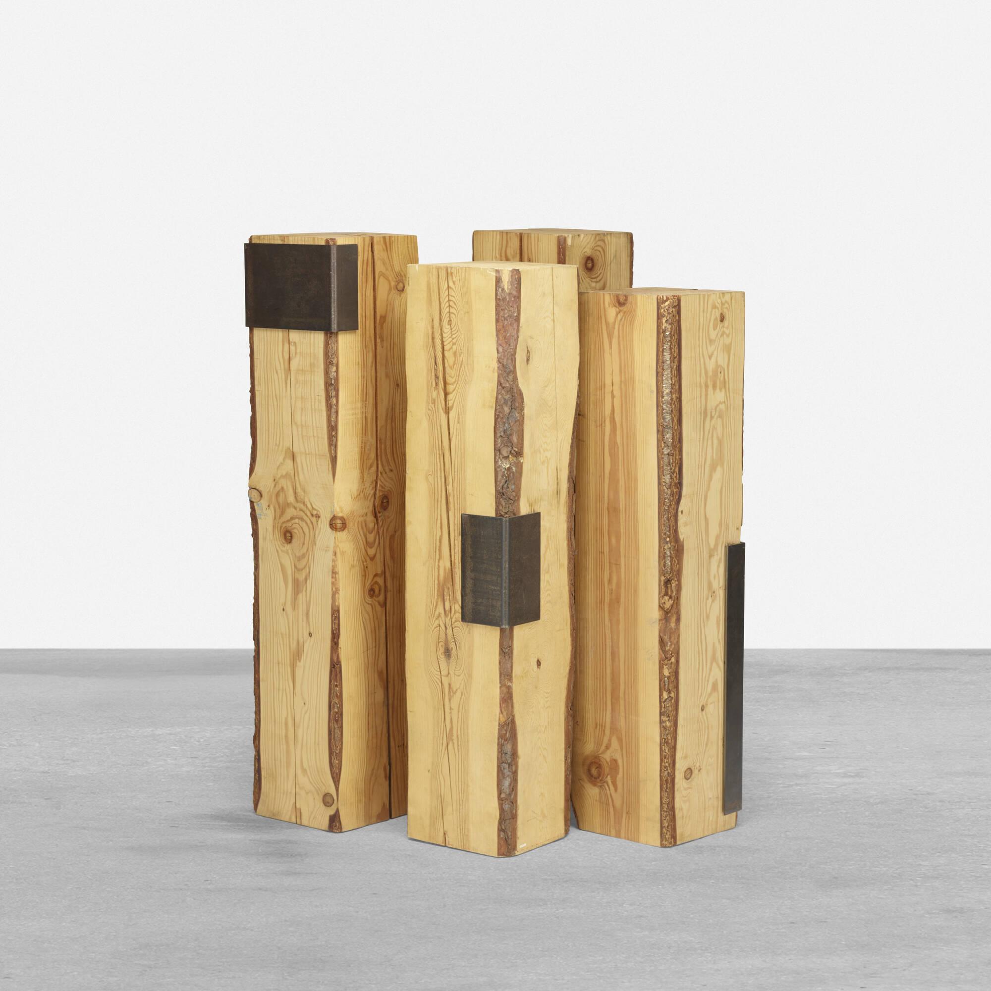 123: Elizabeth Garouste and Mattia Bonetti / pedestals, set of four (1 of 3)