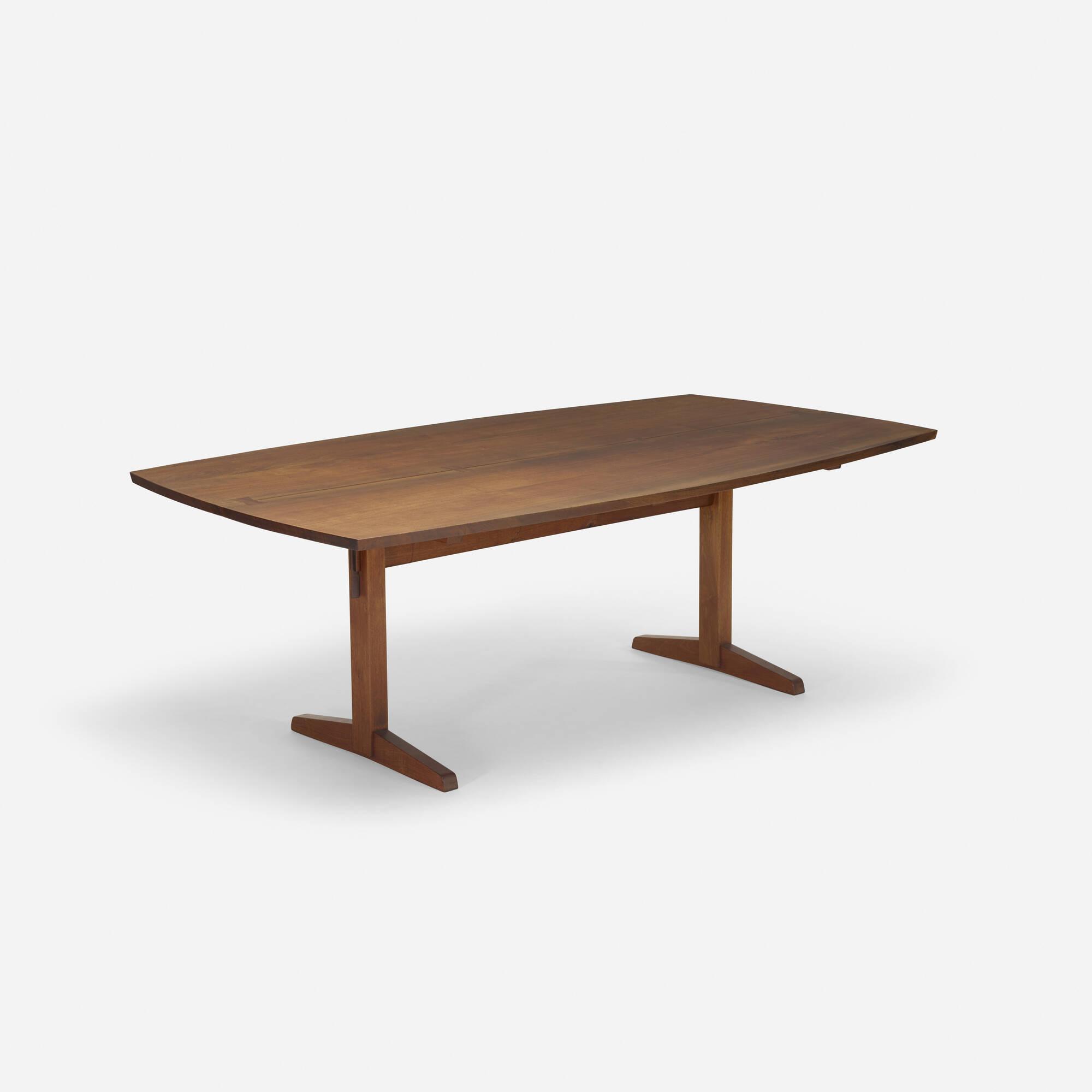 123 George Nakashima Trestle dining table Design 8 December