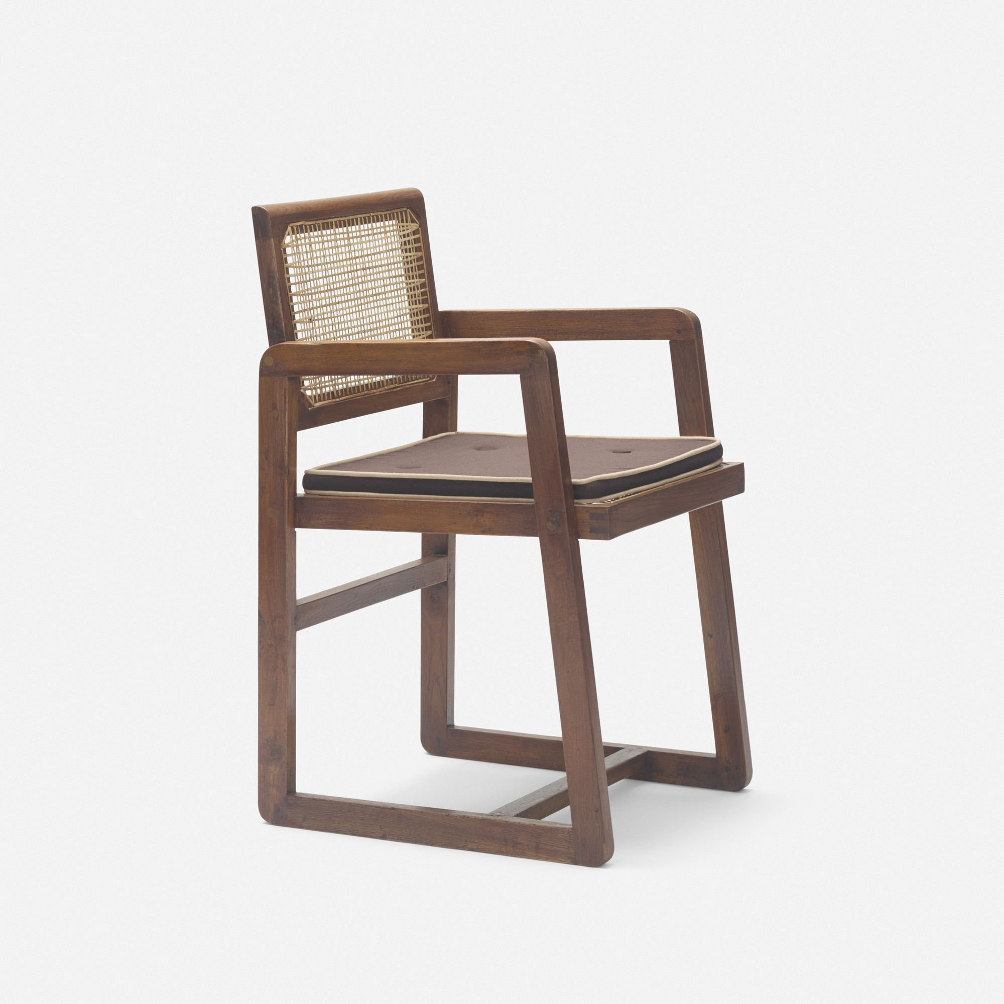 123: Pierre Jeanneret / armchair from Chandigarh (1 of 3)