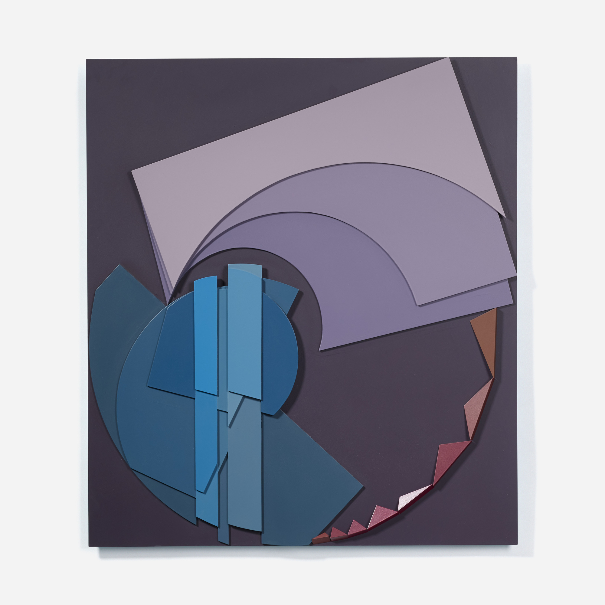 123: David Barr / Structurist Relief No. 294 (1 of 2)