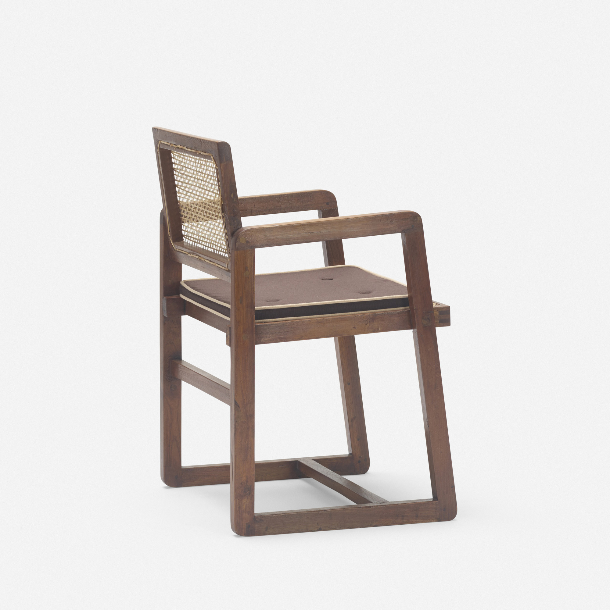 123: Pierre Jeanneret / armchair from Chandigarh (2 of 3)