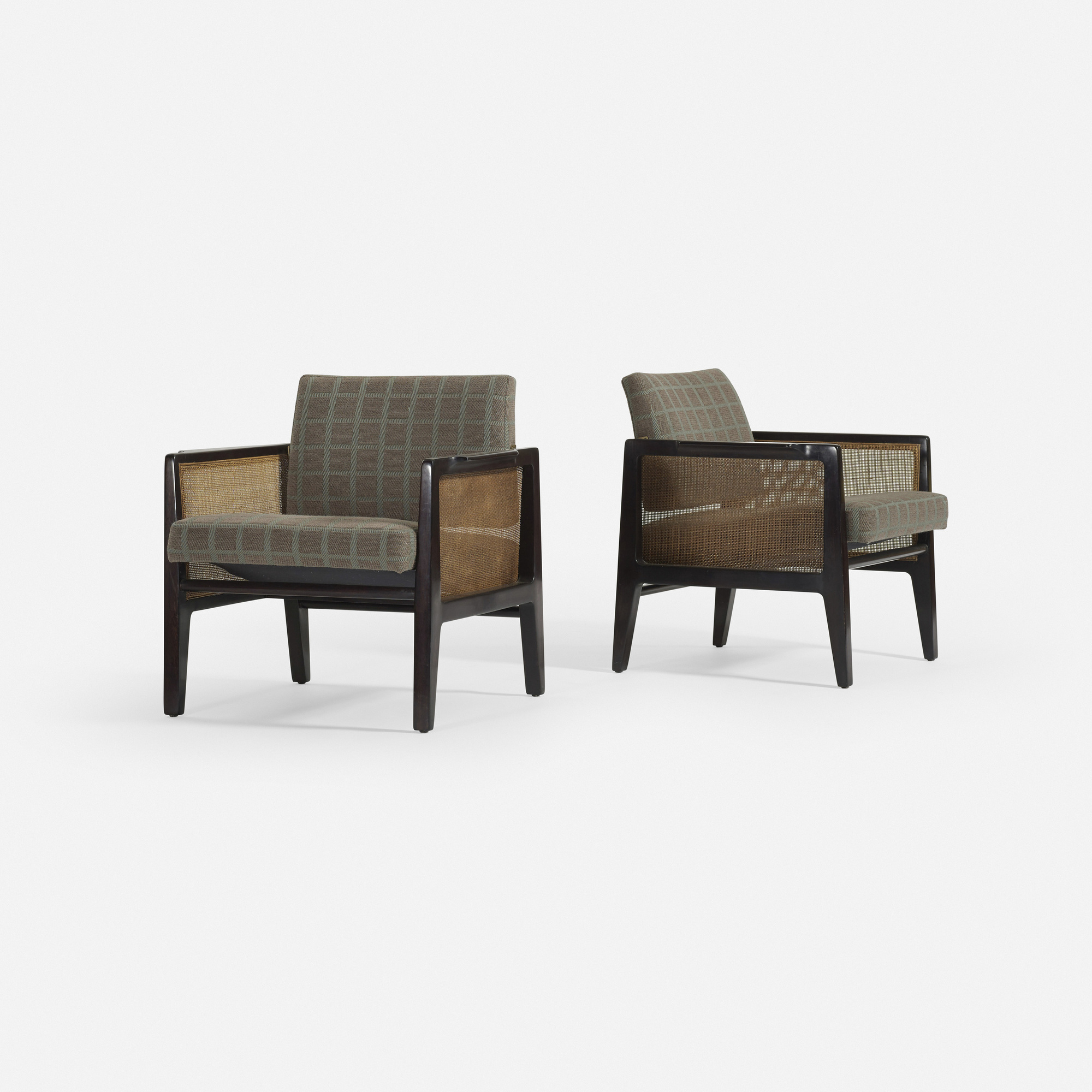 123: Edward Wormley / armchairs model 5513, pair (2 of 4)