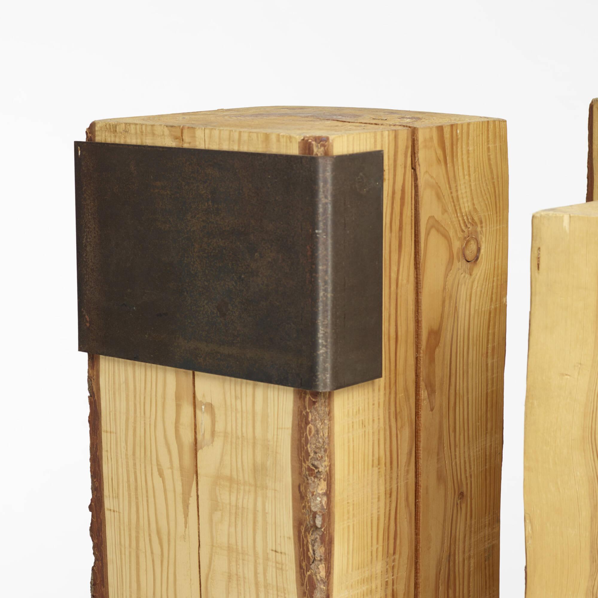 123: Elizabeth Garouste and Mattia Bonetti / pedestals, set of four (3 of 3)