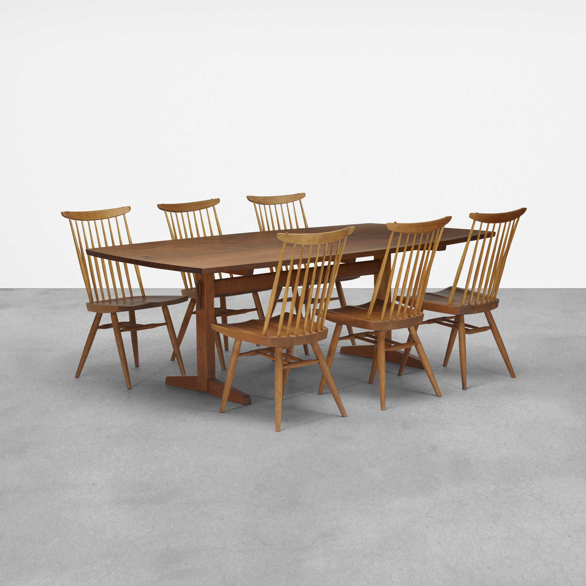 100 George Nakashima Furniture Pair Of George Nakashima Slatted Walnut Chairs U2013