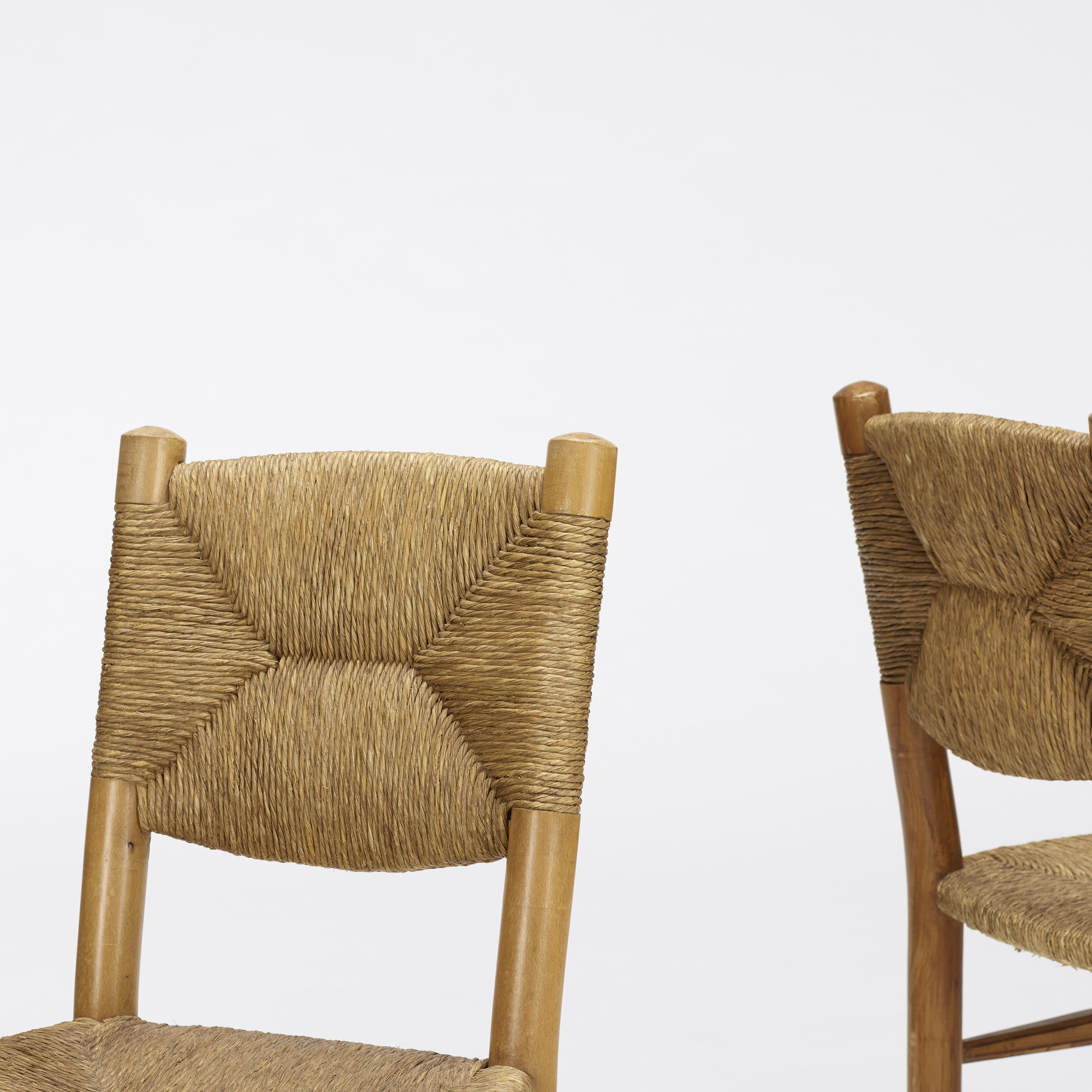 123: Charlotte Perriand / dining chairs, pair (3 of 4)