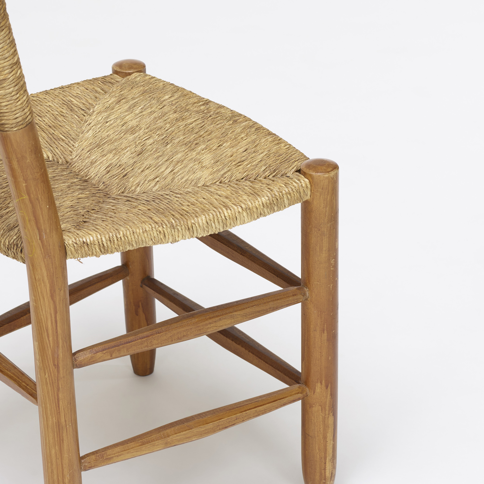 123: Charlotte Perriand / dining chairs, pair (4 of 4)