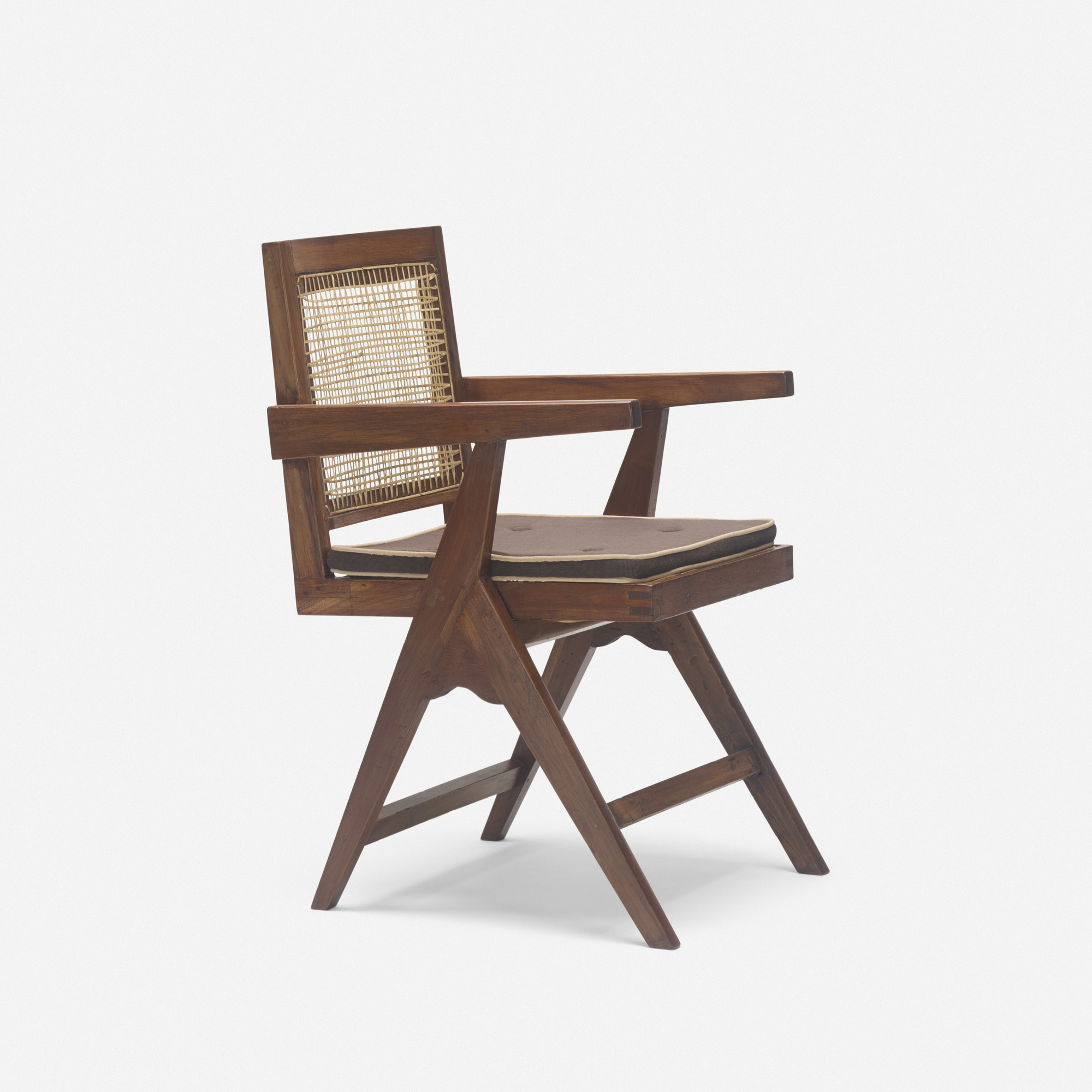 124: Pierre Jeanneret / armchair from Chandigarh (1 of 3)