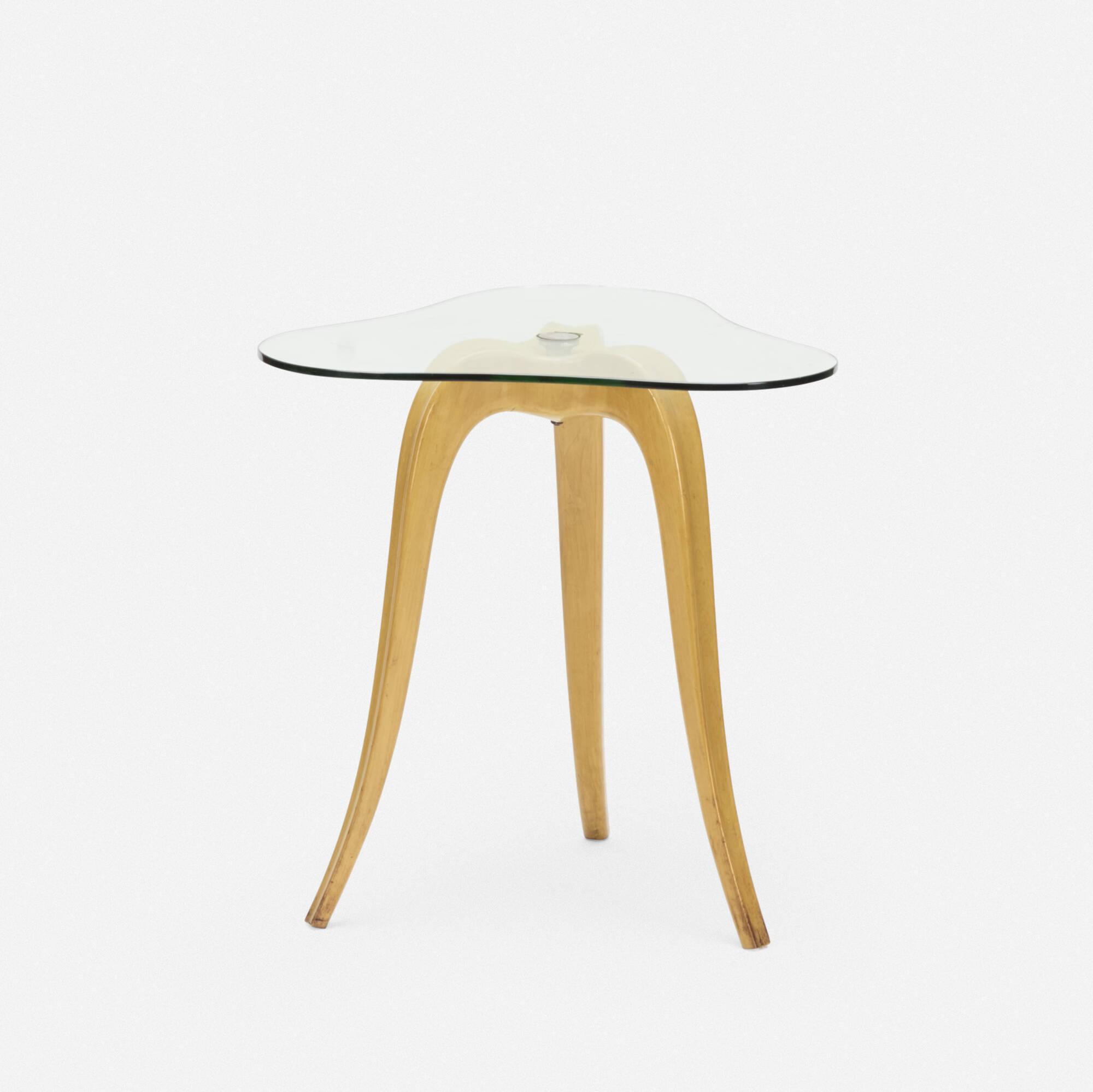 124: Osvaldo Borsani / occasional table (1 of 2)