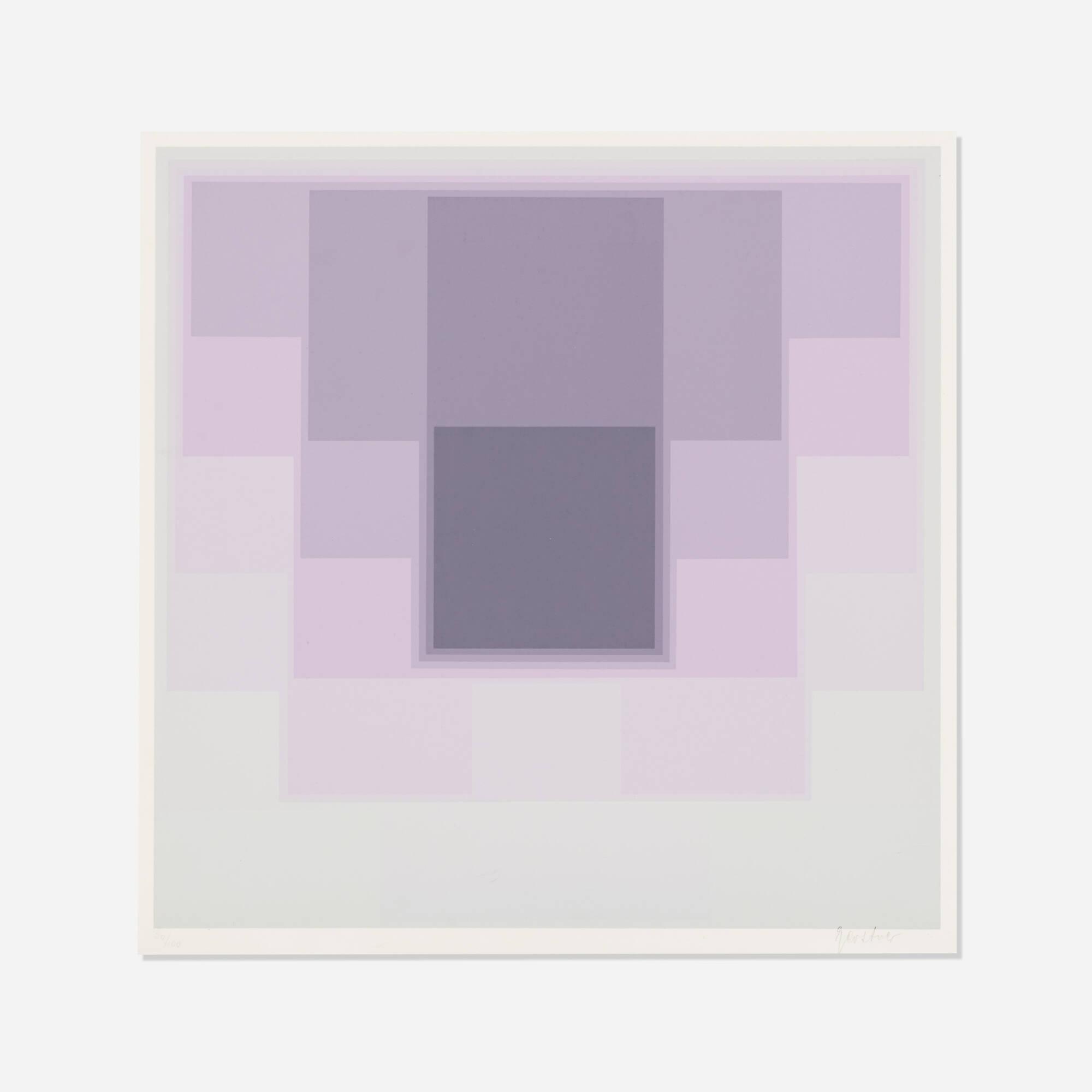124: Karl Gerstner / Untitled (from the Color Levels portfolio) (1 of 1)