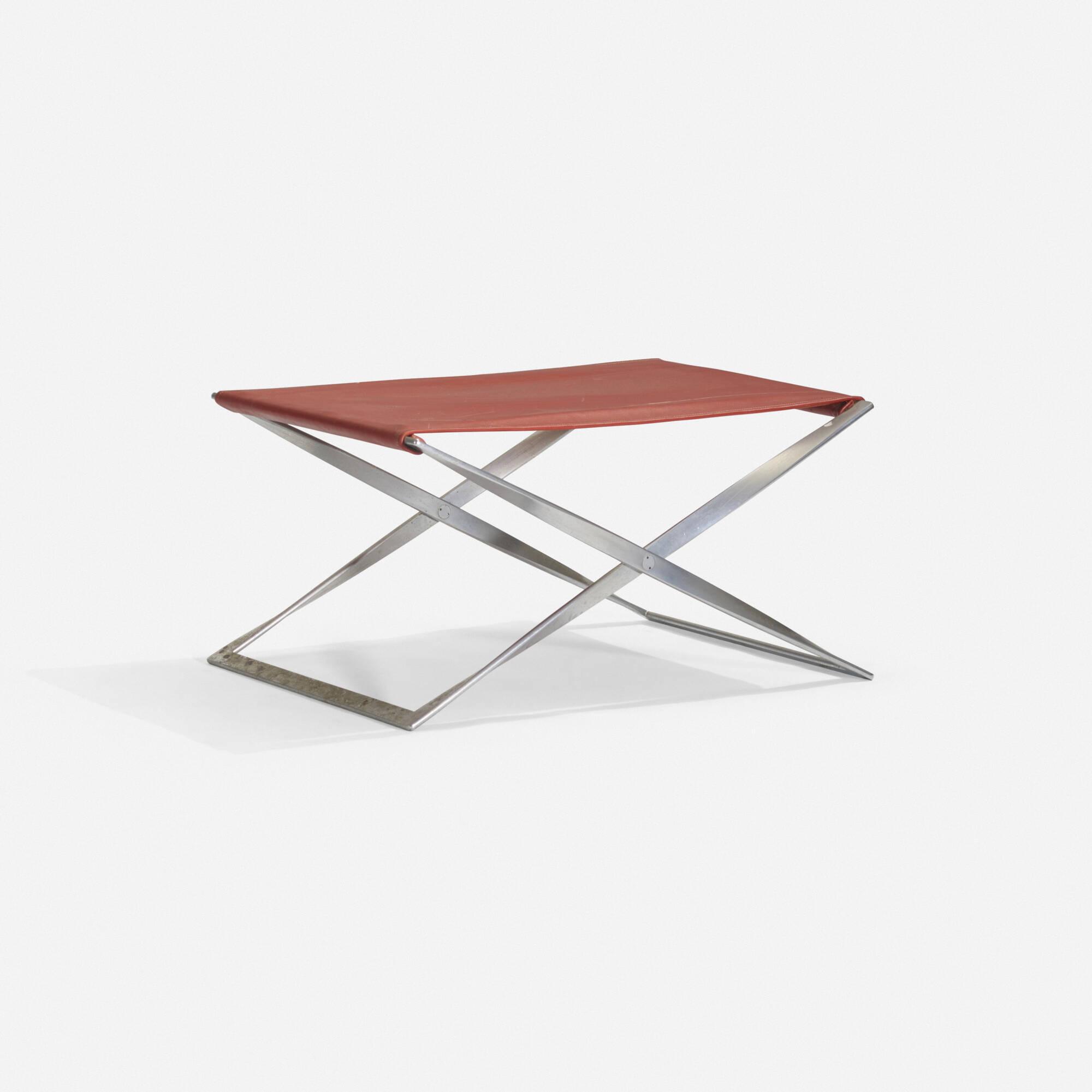 124: Poul Kjaerholm / PK 91 stool (1 of 2)