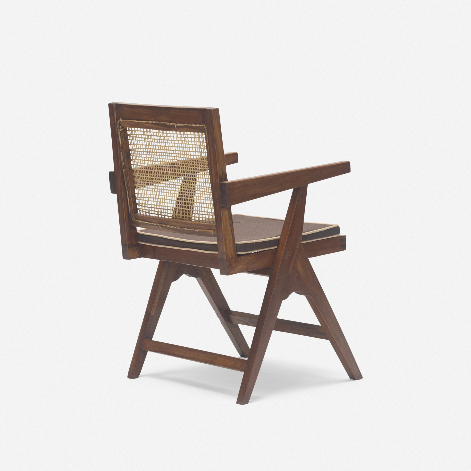 124: Pierre Jeanneret / armchair from Chandigarh (2 of 3)