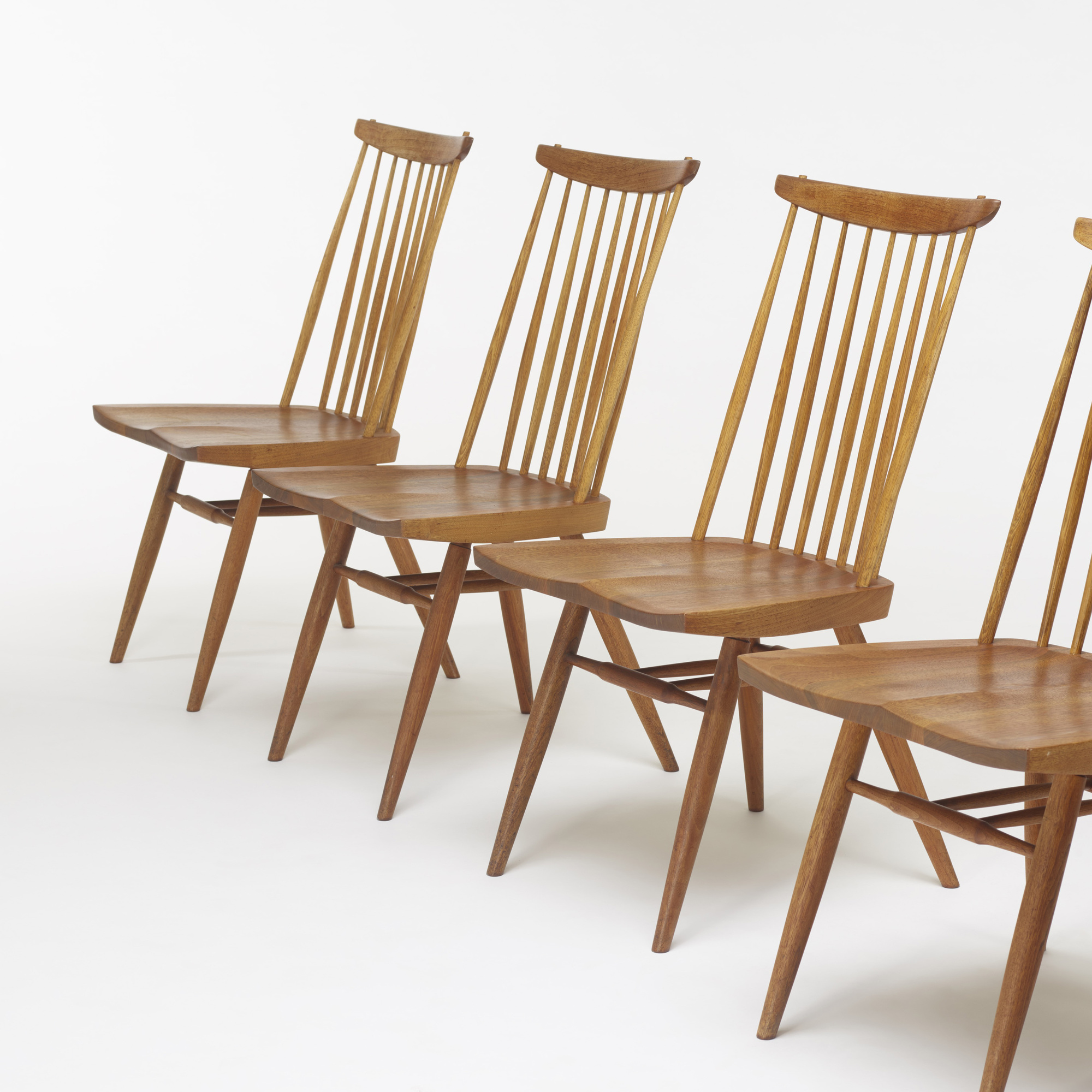 124: George Nakashima / New chairs, set of six (3 of 3)