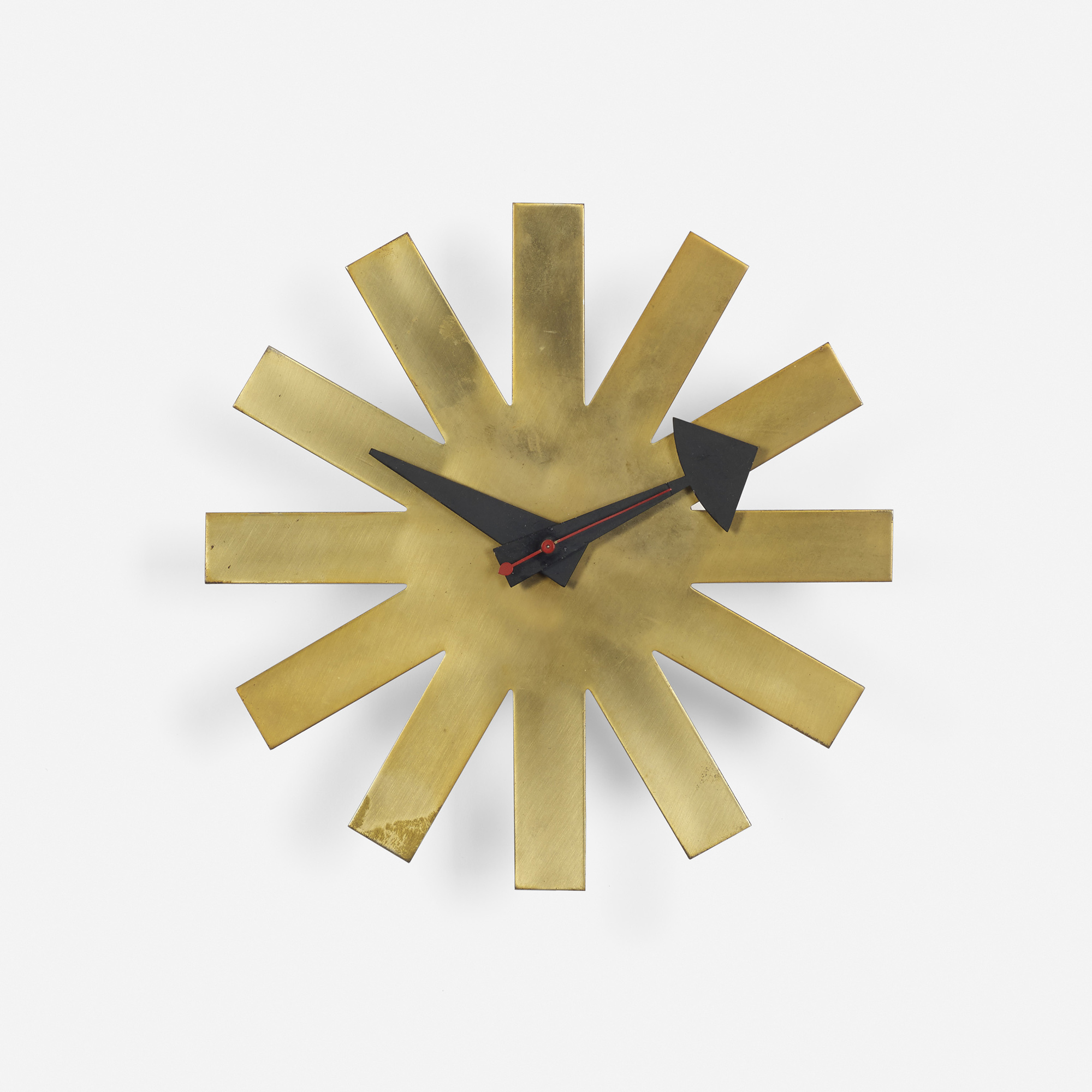 125: George Nelson U0026 Associates / Asterisk Wall Clock, Model 2213 (1 Of