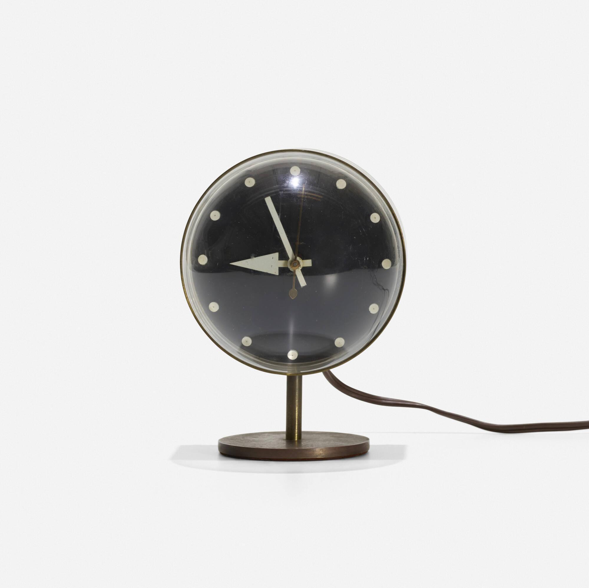 125: George Nelson & Associates / table clock, model 4766 (1 of 2)