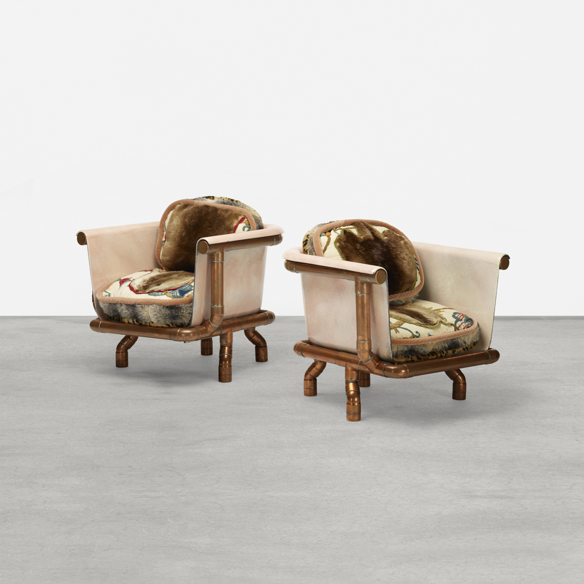125: Joel Otterson / Endangered Species Chairs, pair (1 of 2)