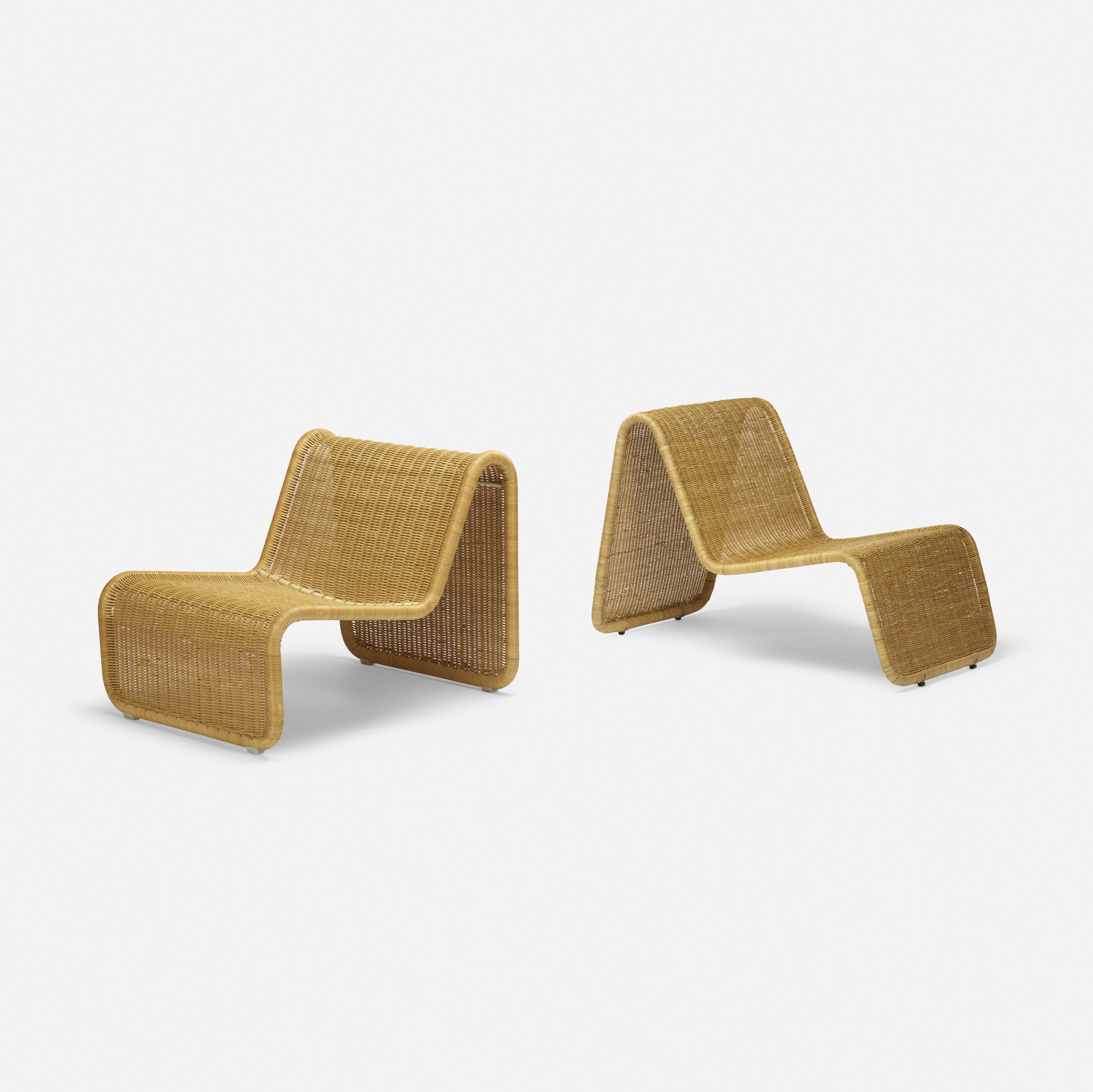 125: Tito Agnoli / P3 lounge chairs, set of two (1 of 2)