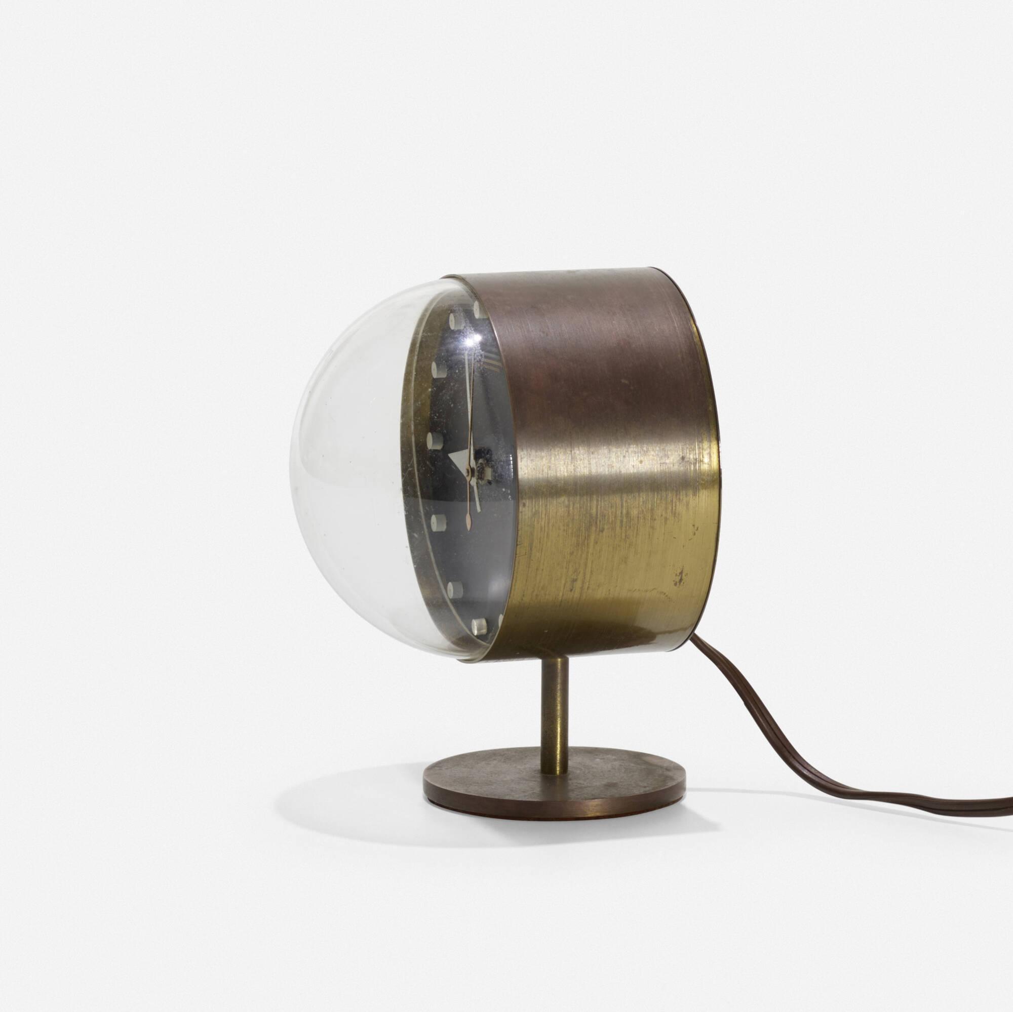 ... 125: George Nelson U0026 Associates / Table Clock, Model 4766 (2 Of 2